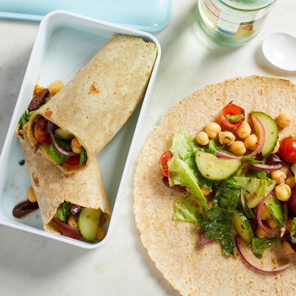 Greek Salad Wraps Trusted Brands