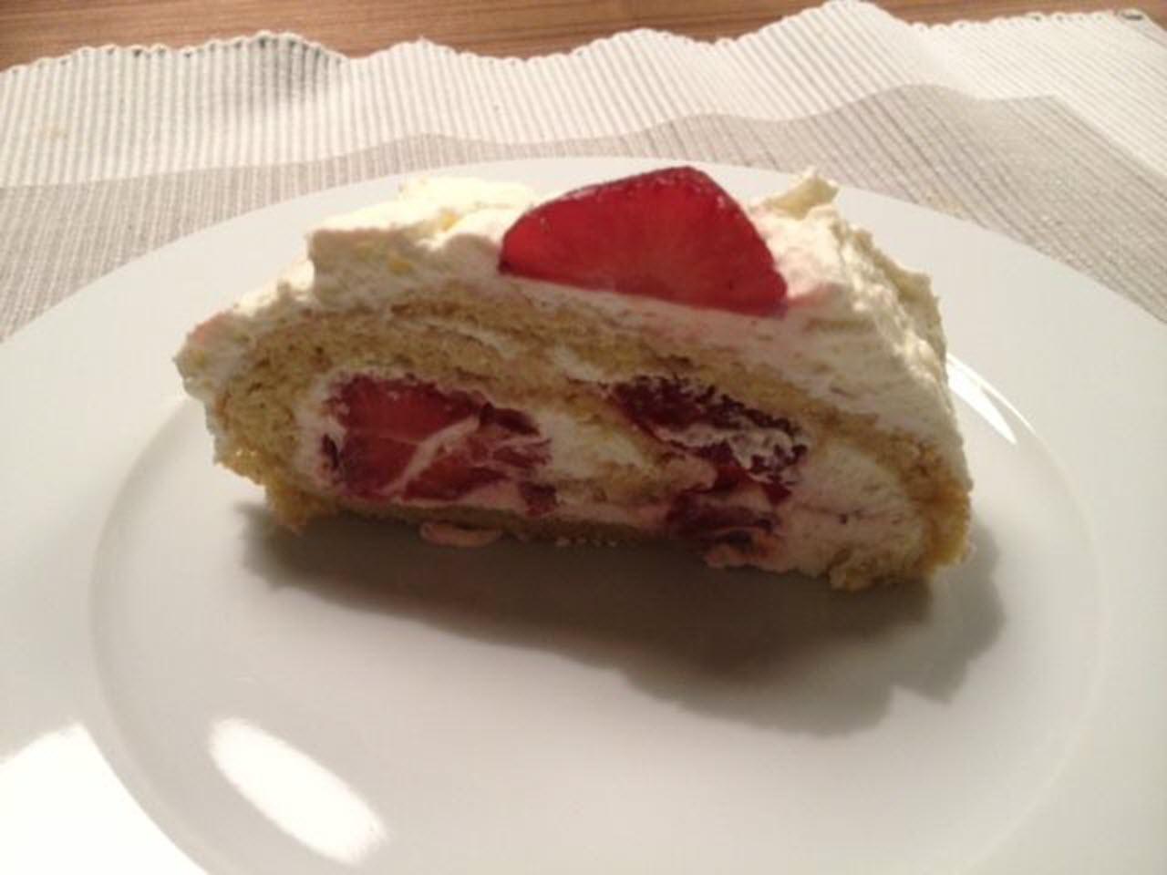 German Strawberry Roll AllrecipesPhoto