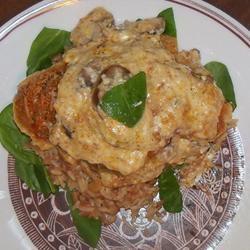 Mushroom Chicken Parmesan The Kitchen Witch