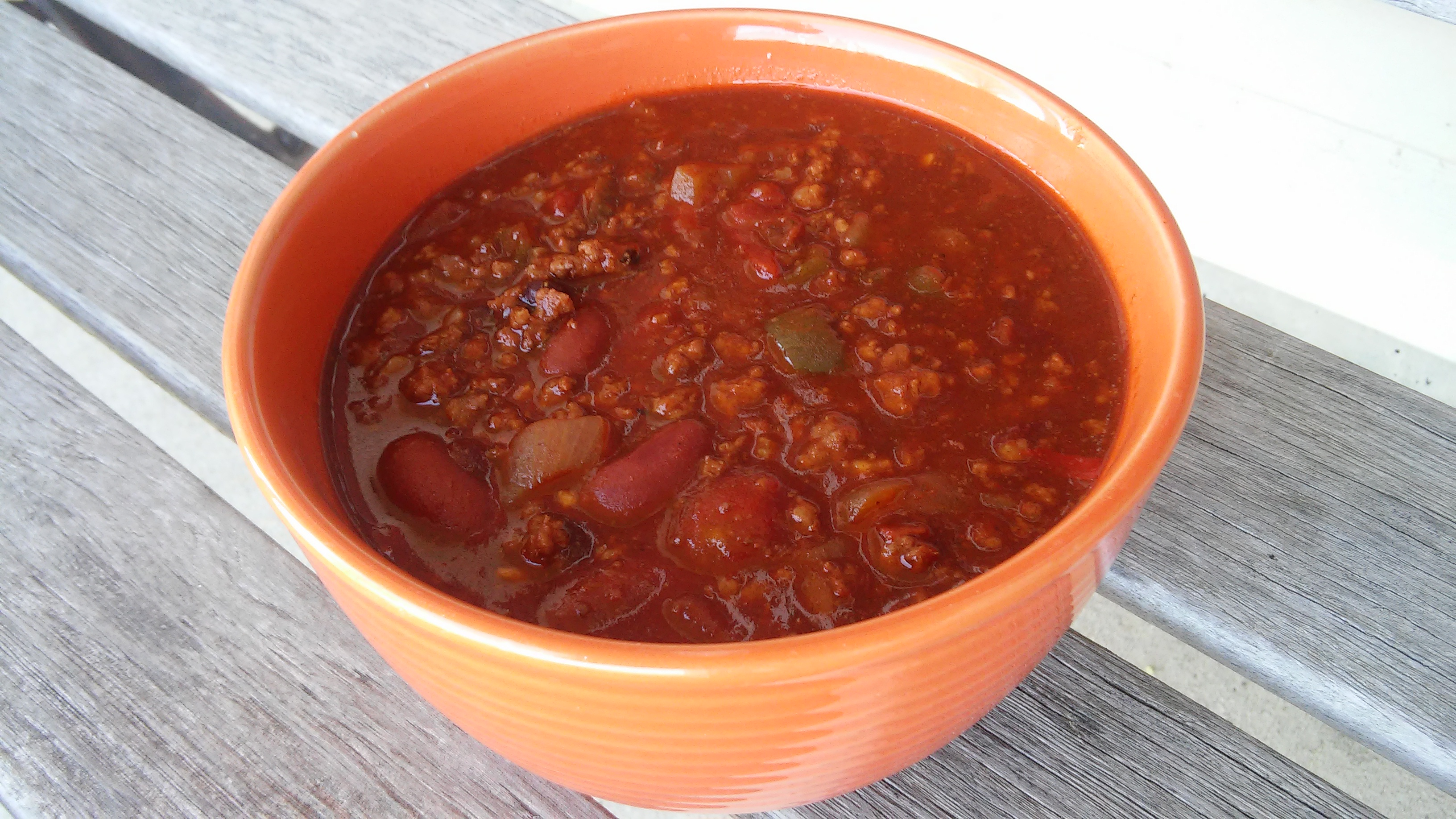 Grandpa Ron's Awesome Three-Bean Chili