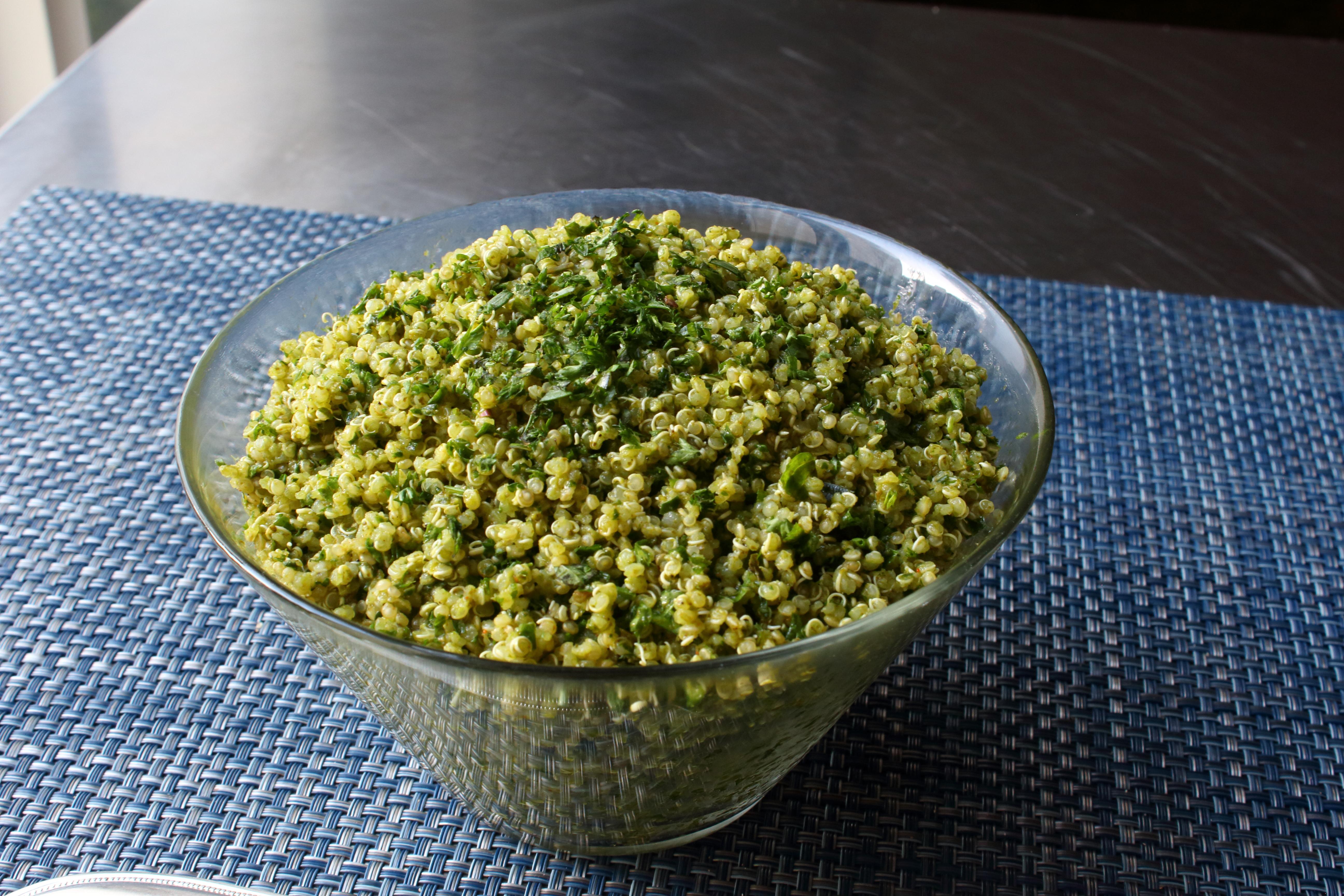 Green Quinoa Tabbouleh Chef John