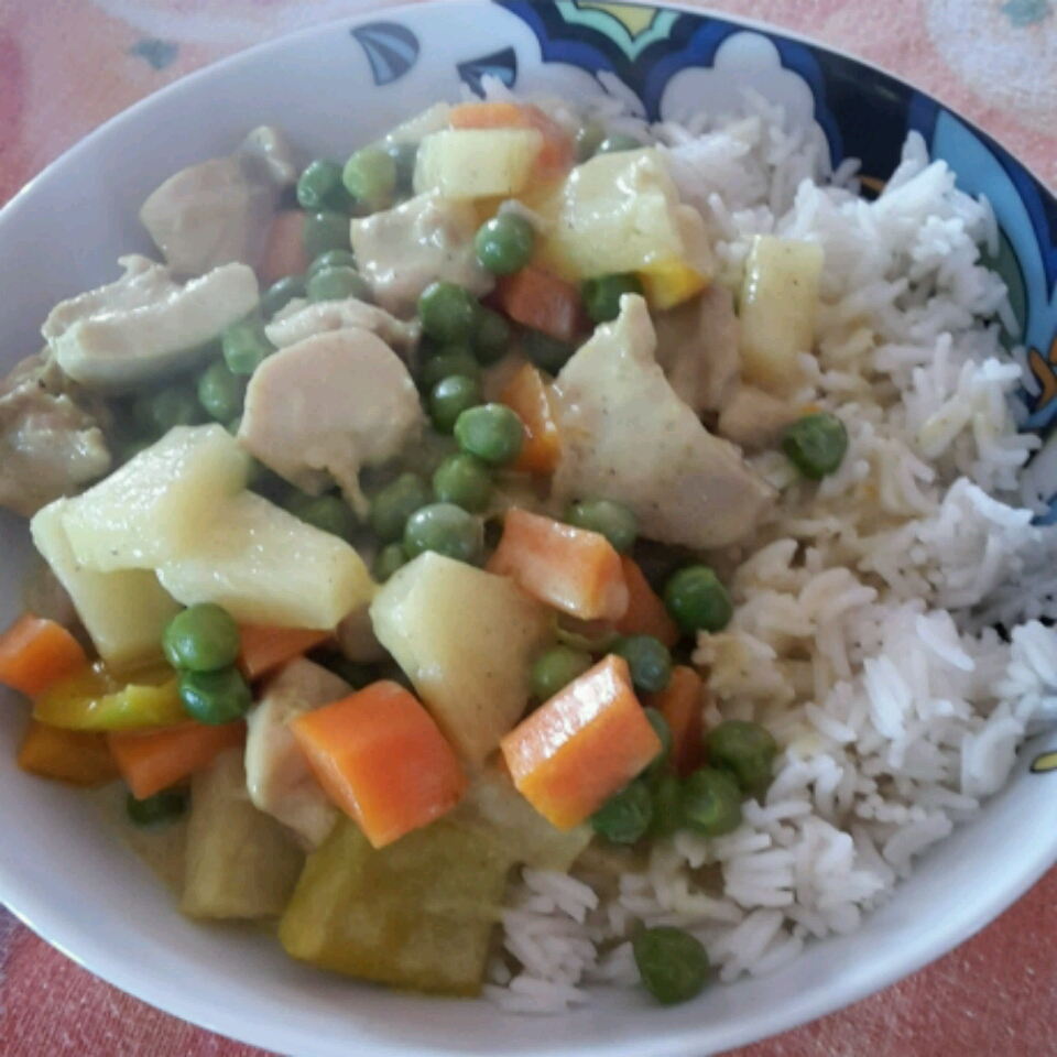 Thai Chicken Curry with Pineapple cristina