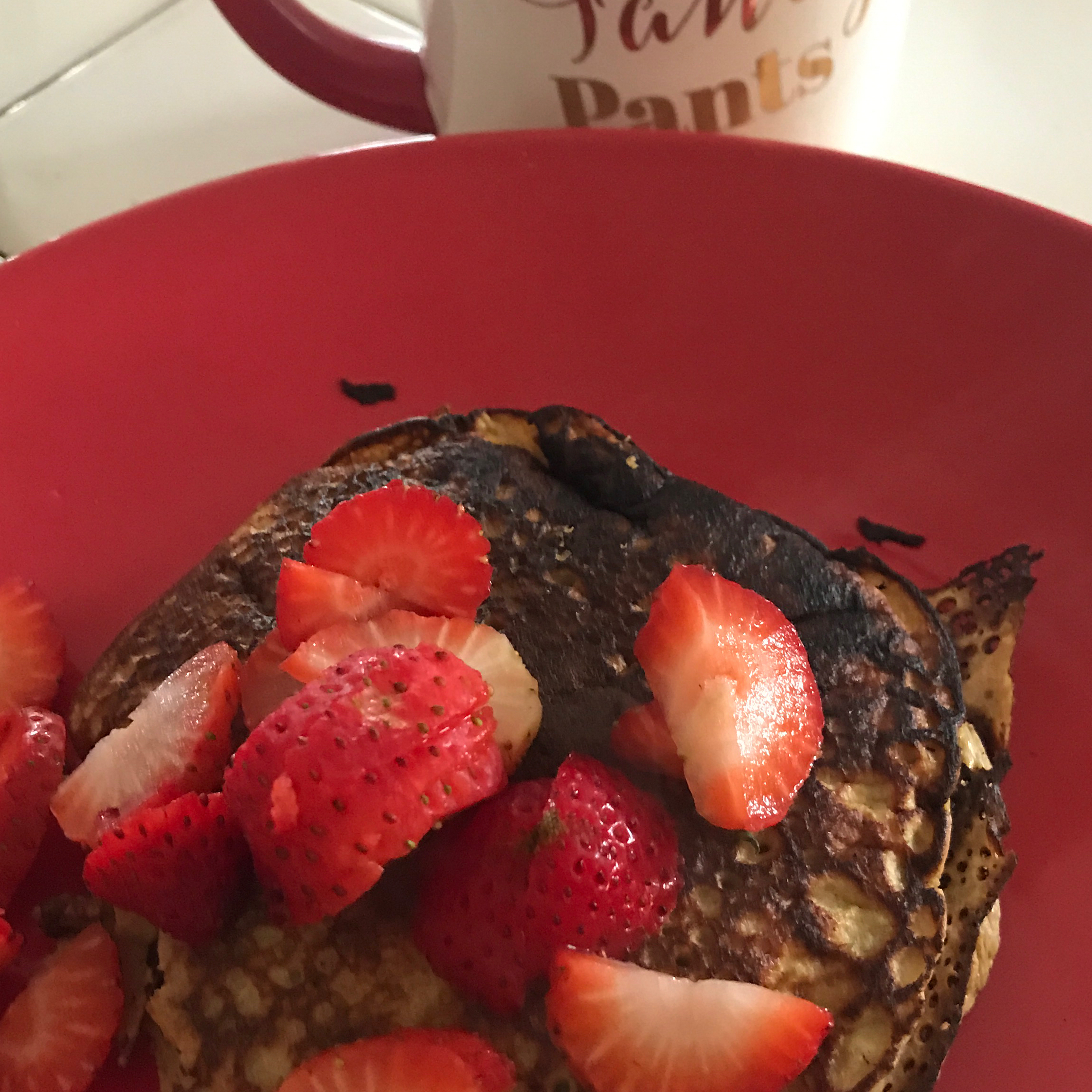 No Milk, No Wheat, Banana Pancakes Katy