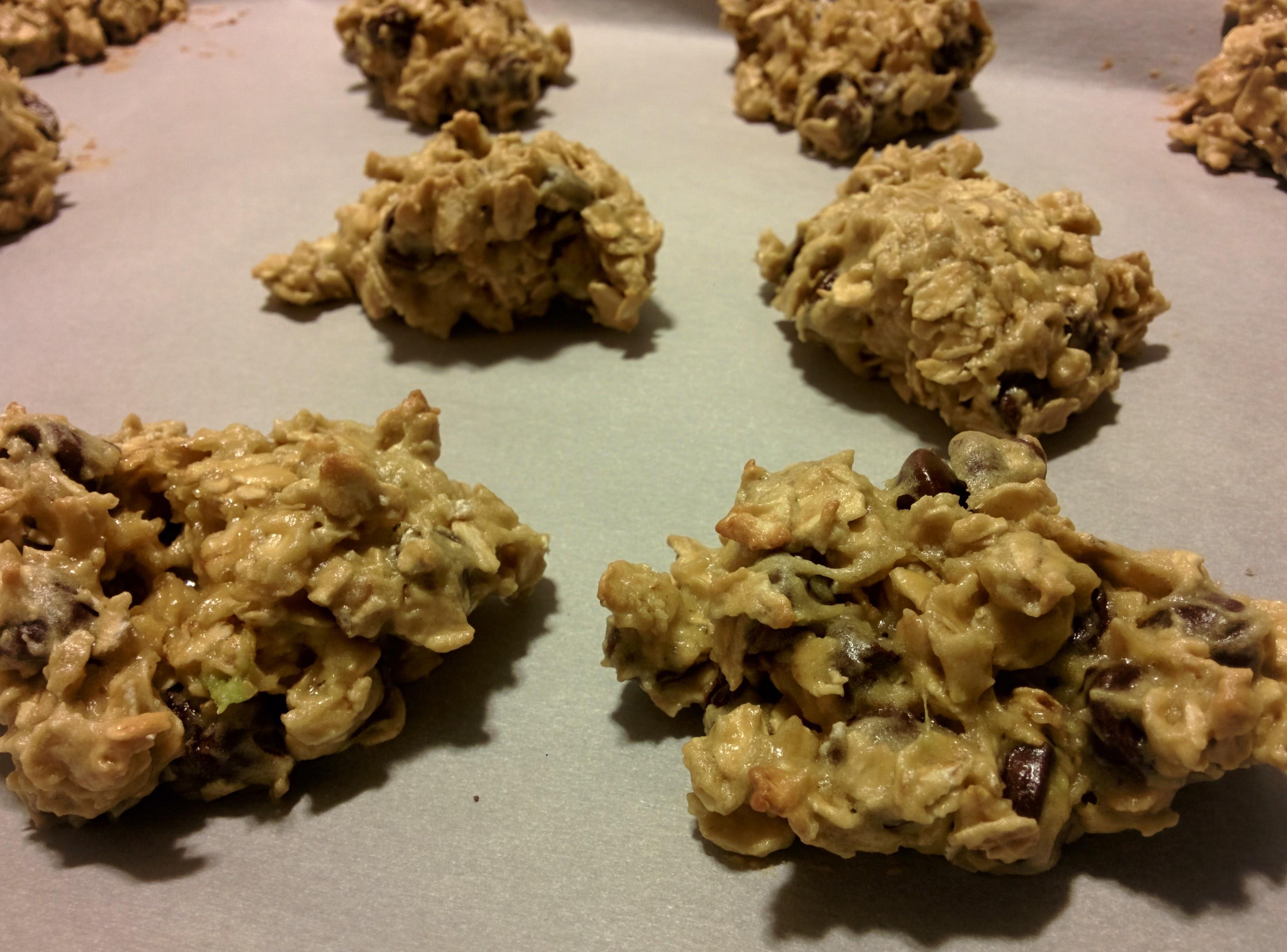 Avocado-Oatmeal Cookies