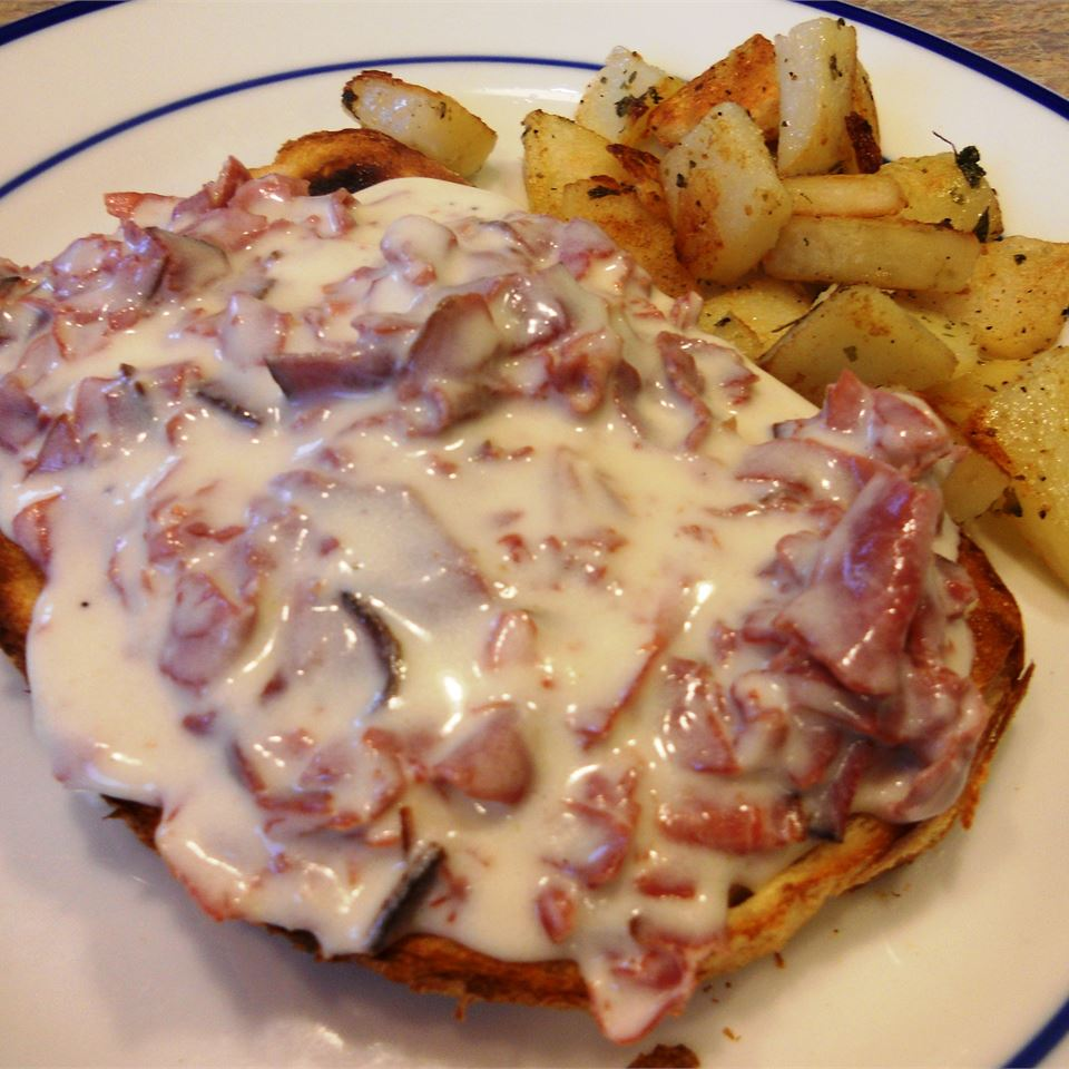 Creamed Chipped Beef On Toast Lisa