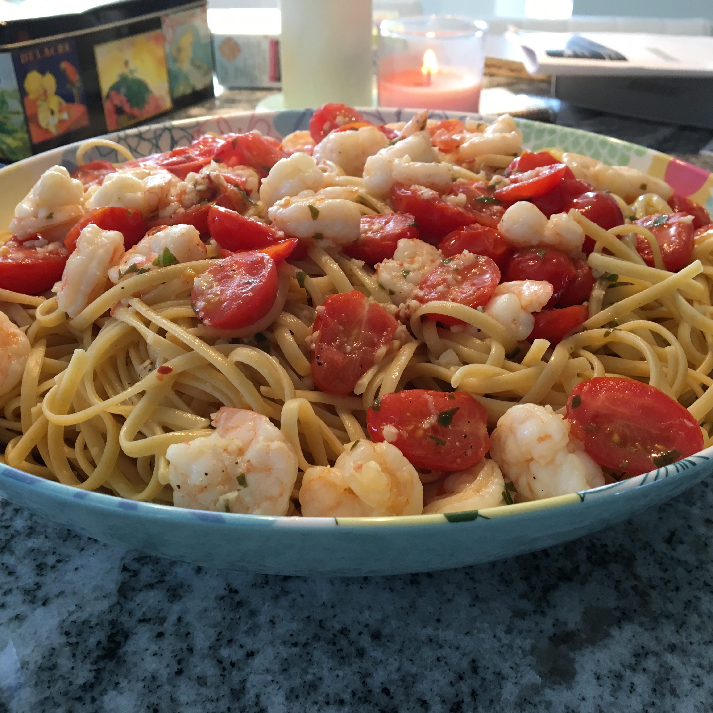 Shrimp Scampi with Linguini Matt Ravlich