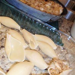 Chicken and Cheese Stuffed Jumbo Shells Mia