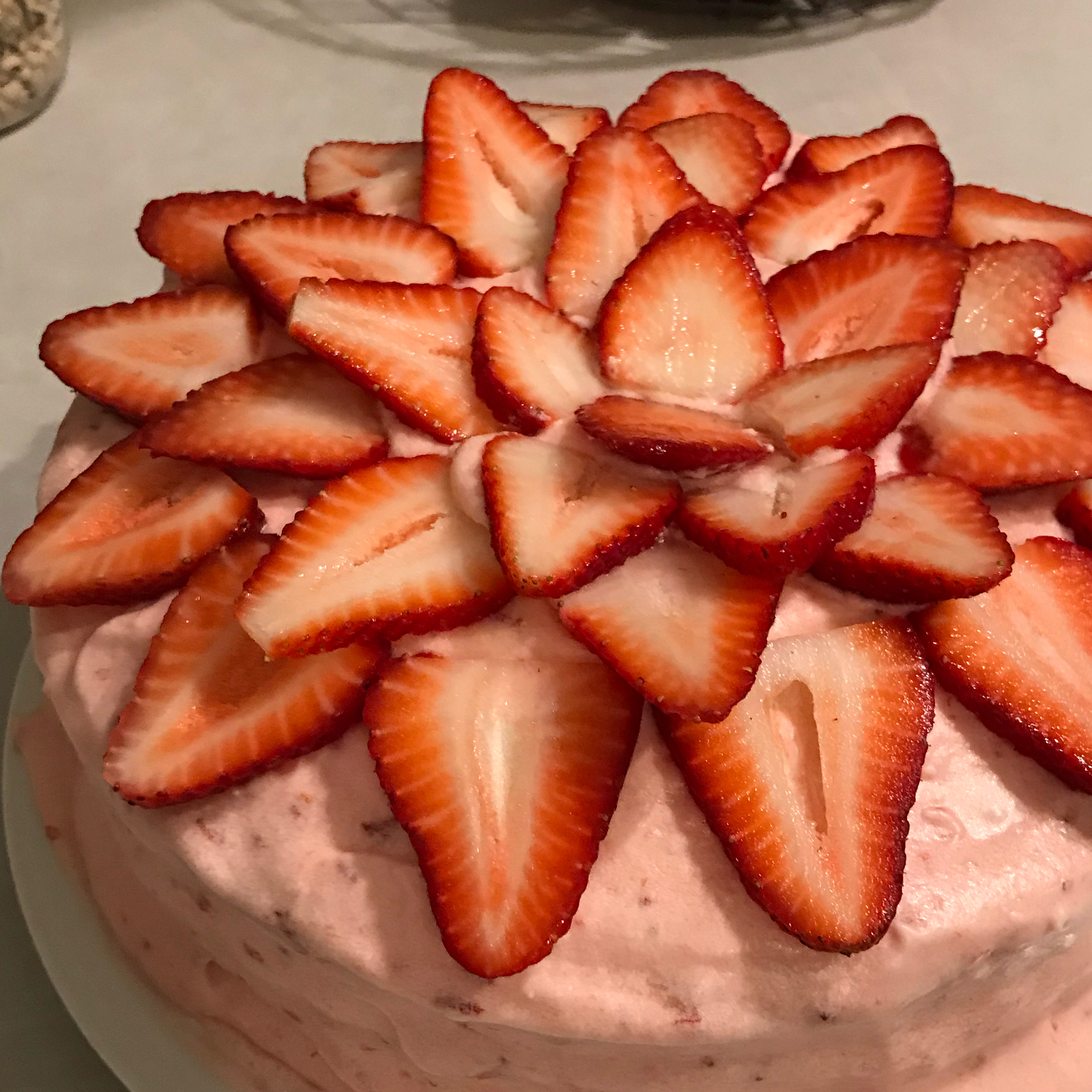 Strawberry Cake and Frosting I MG