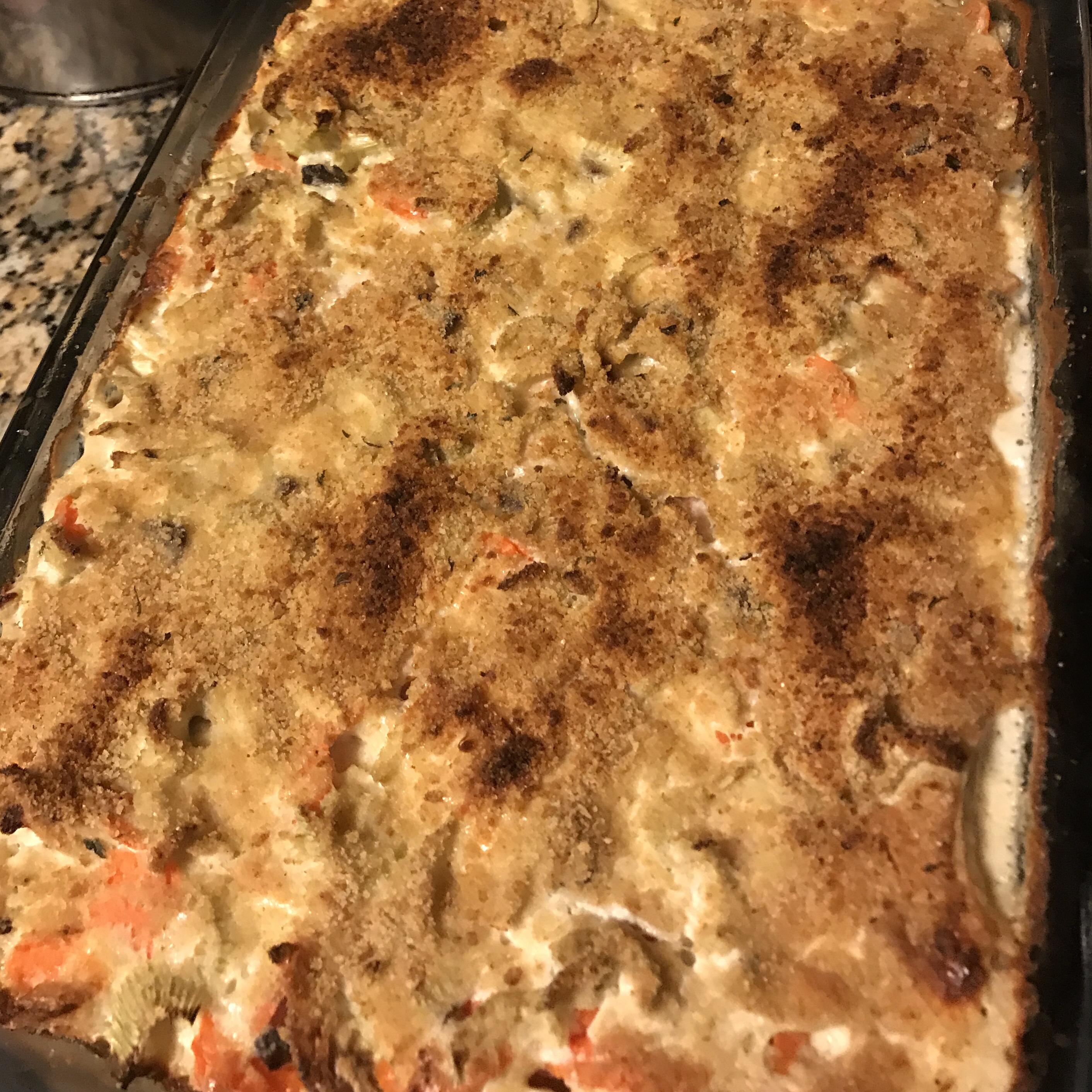Megan Rae's Chicken Tetrazzini cmharris99