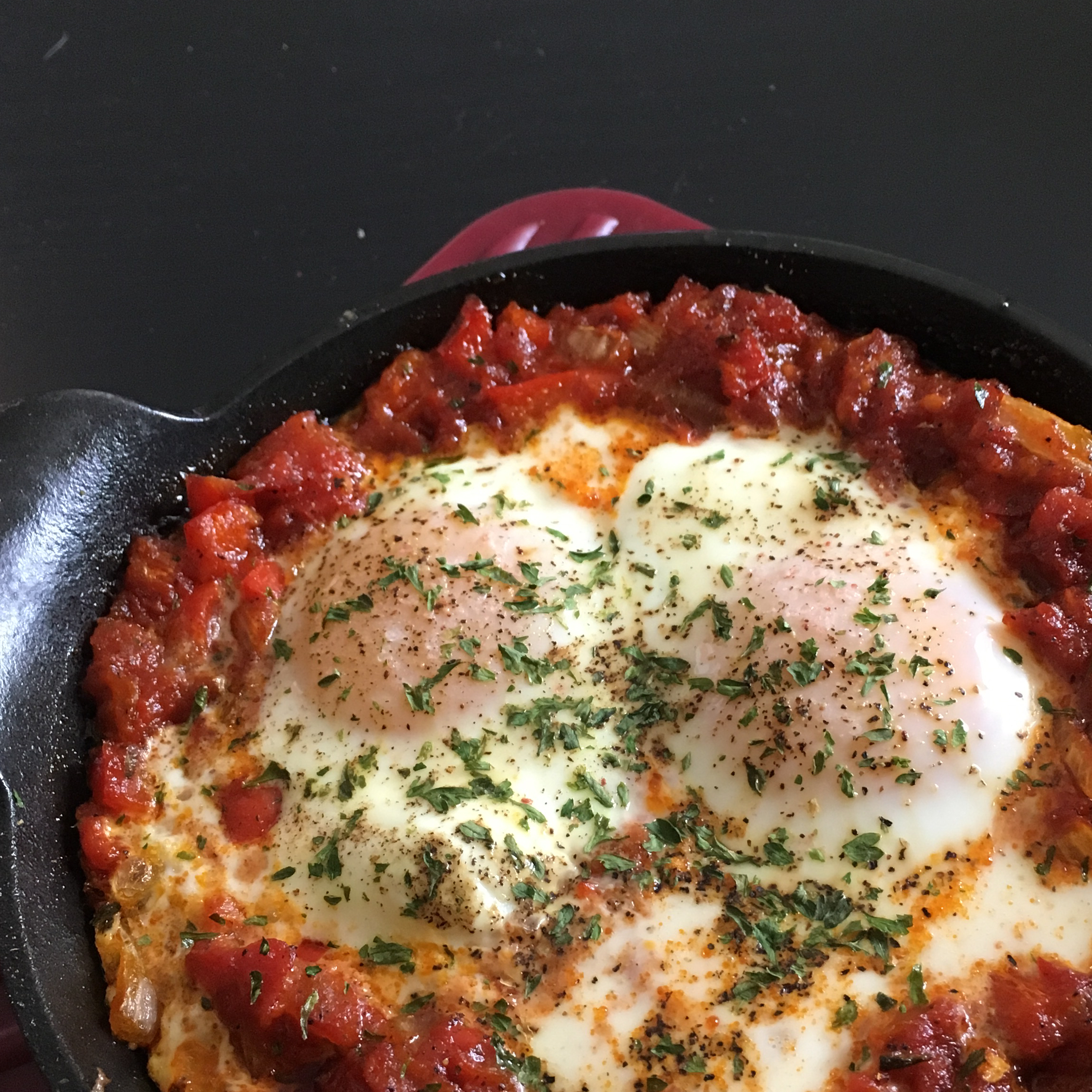 Eggs in Purgatory (Shakshuka)