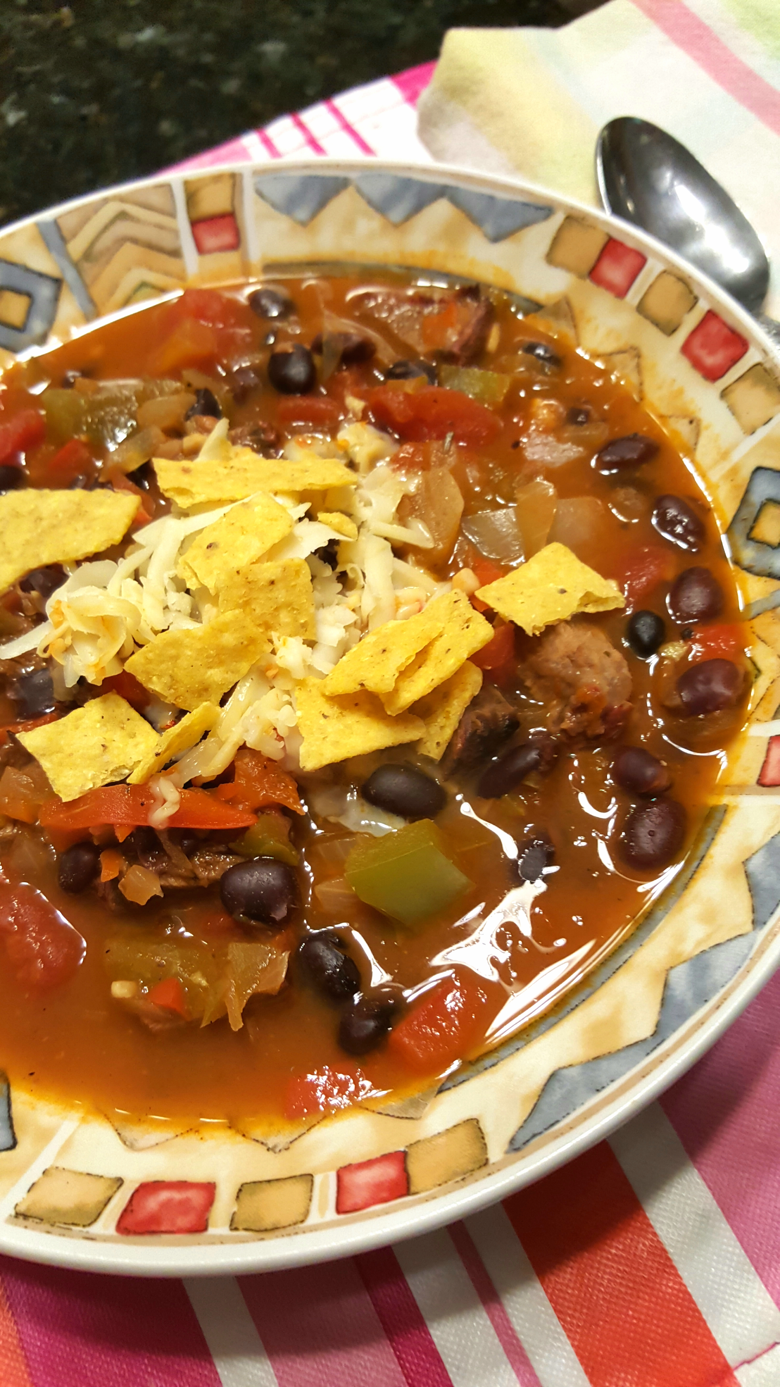 Steak Fajita Soup