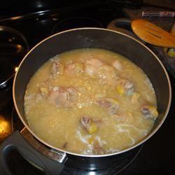 Chicken Arroz Caldo (Chicken Rice Porridge) jtengco25