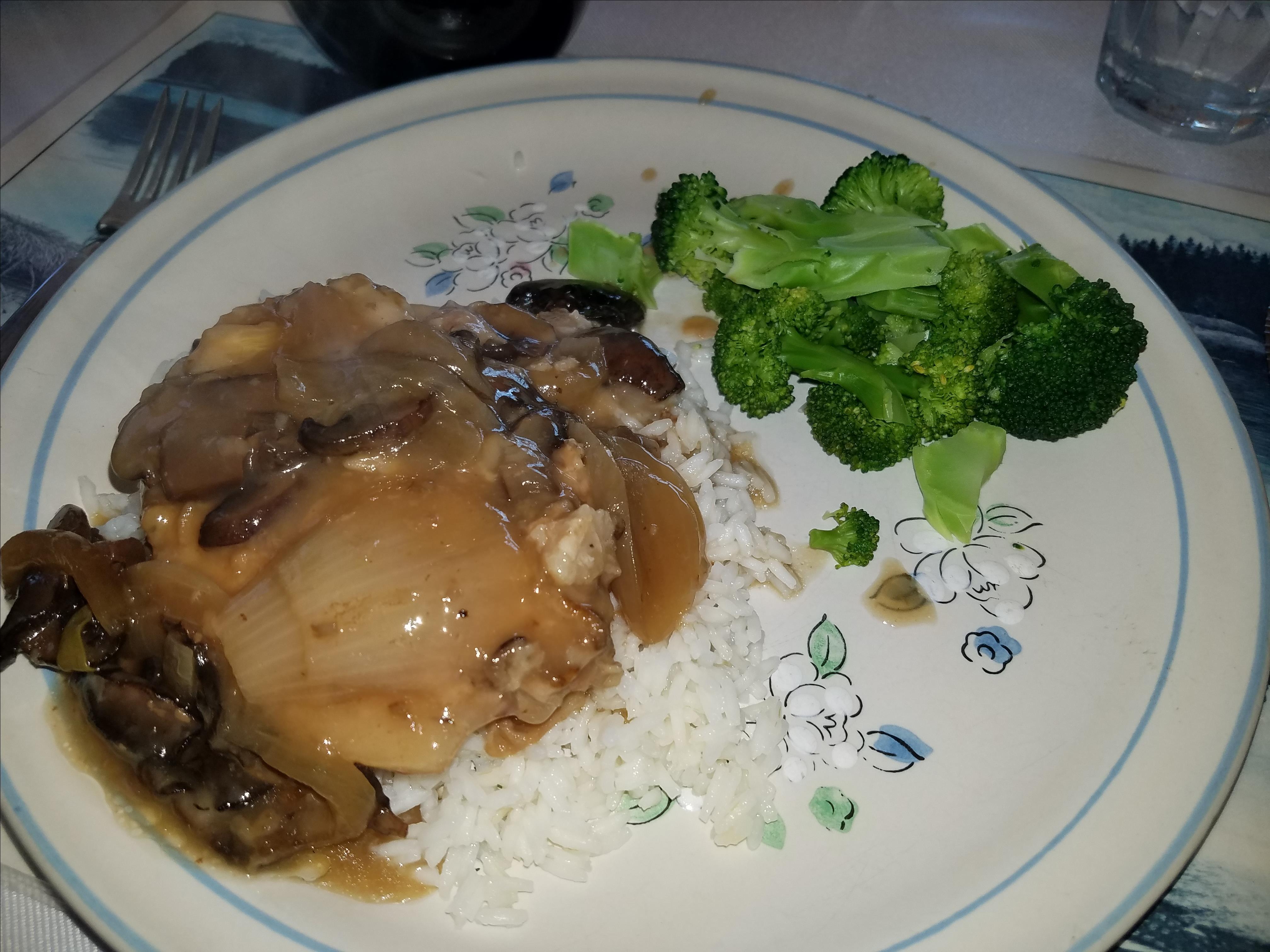 Creamy Slow Cooker Marsala Pork