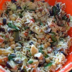 Greek Orzo Salad chikalin