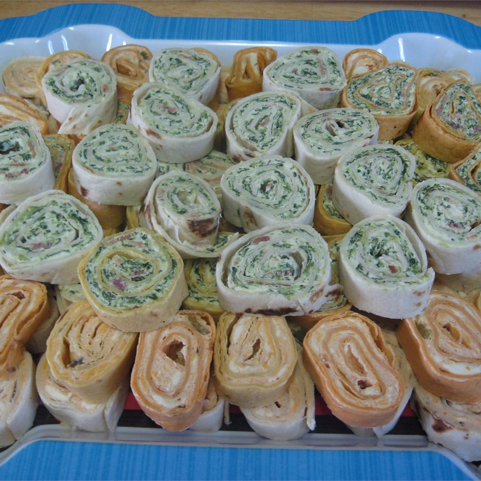 Spinach Roll-Ups Nita Rockwell Minto