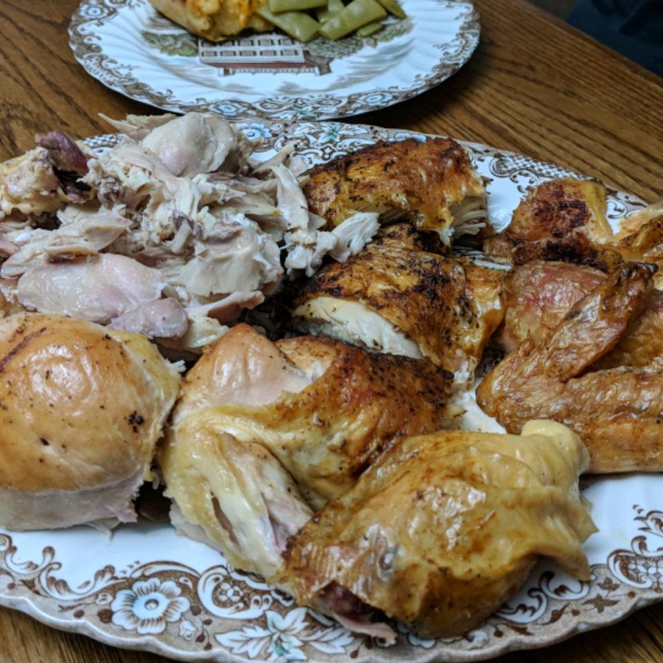 Juicy Roasted Chicken Carianne Rochford