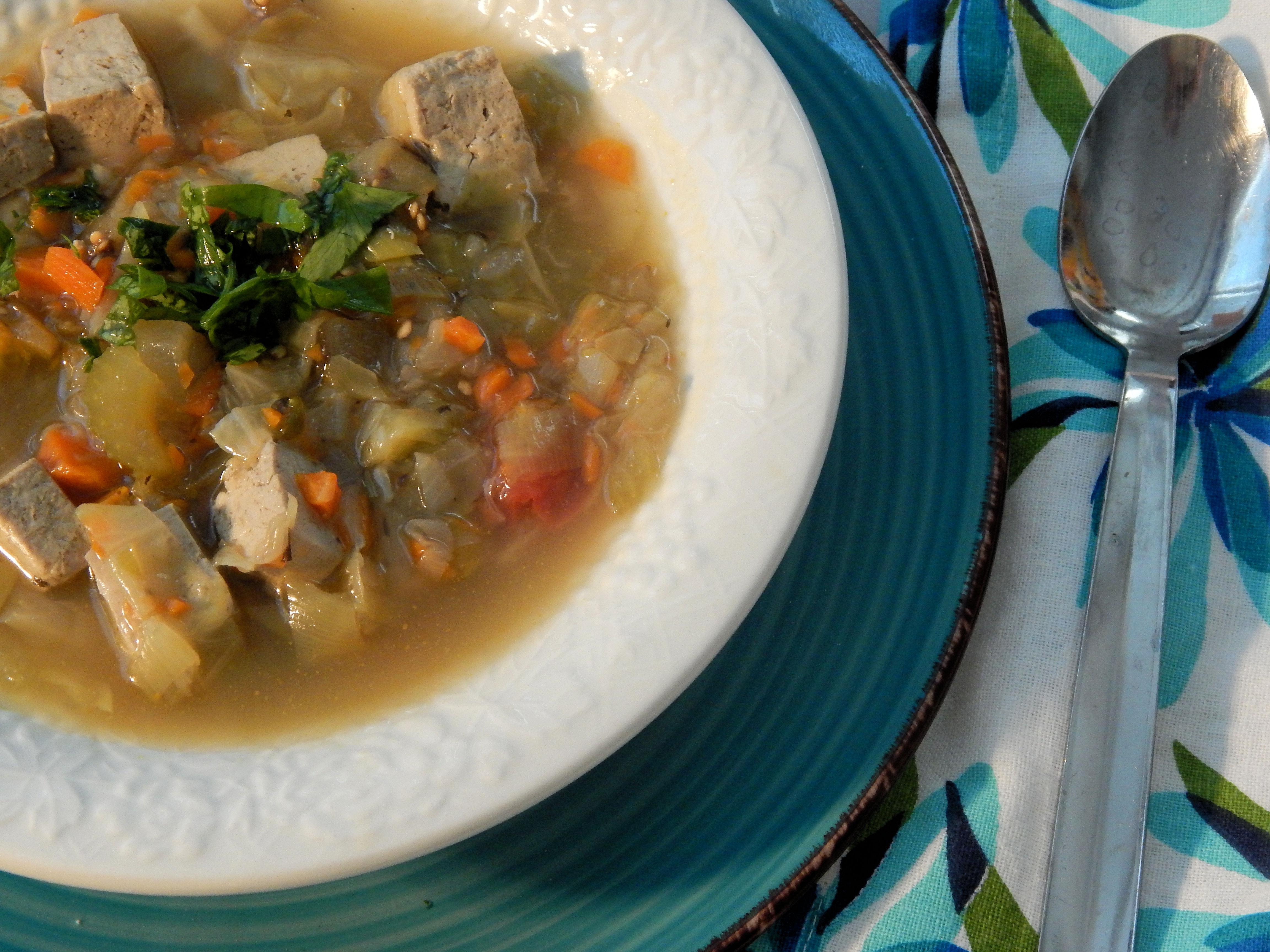 Delicious Vegan Vegetable Soup