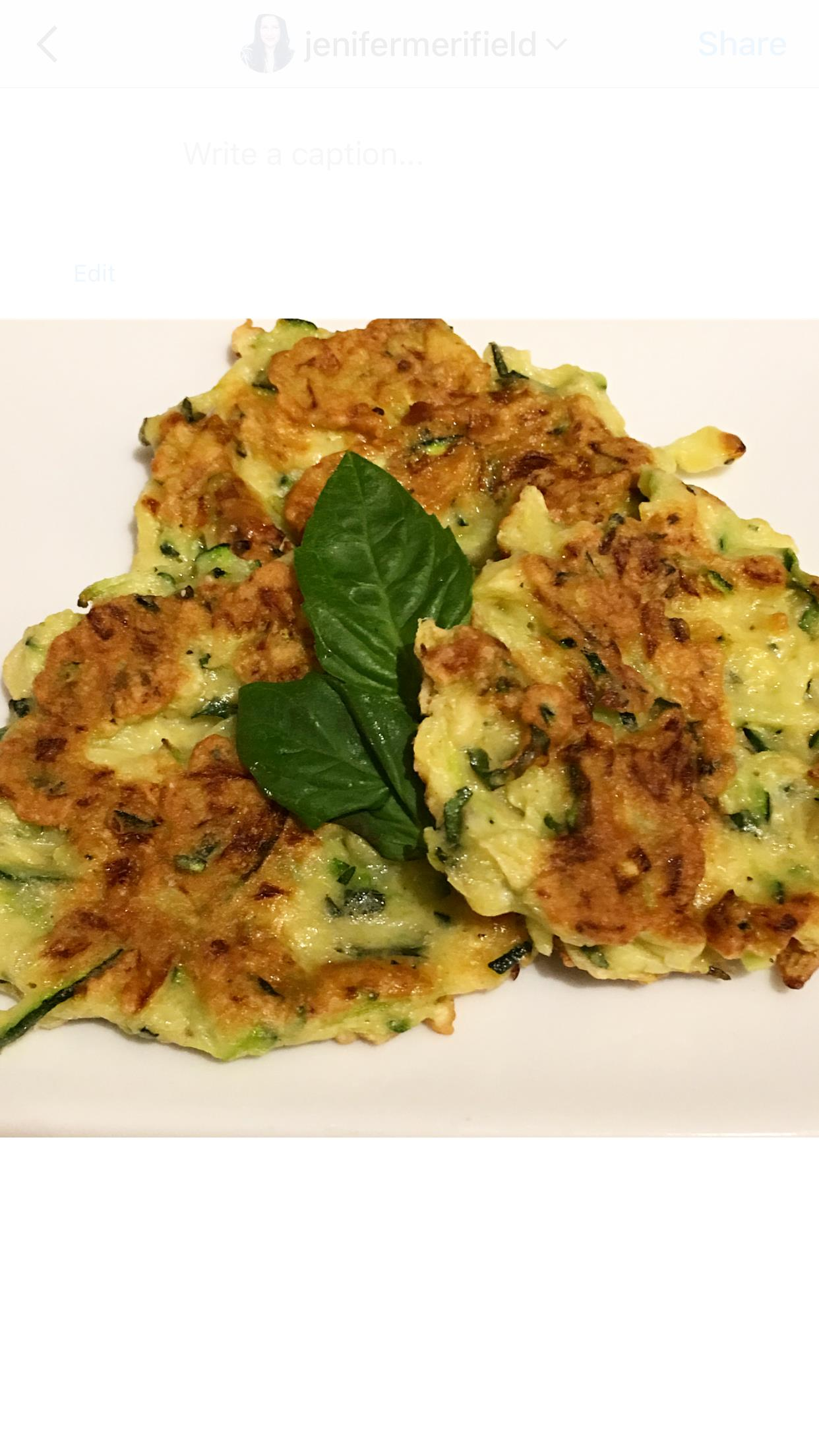 Old-Fashioned Italian Zucchini Fritters