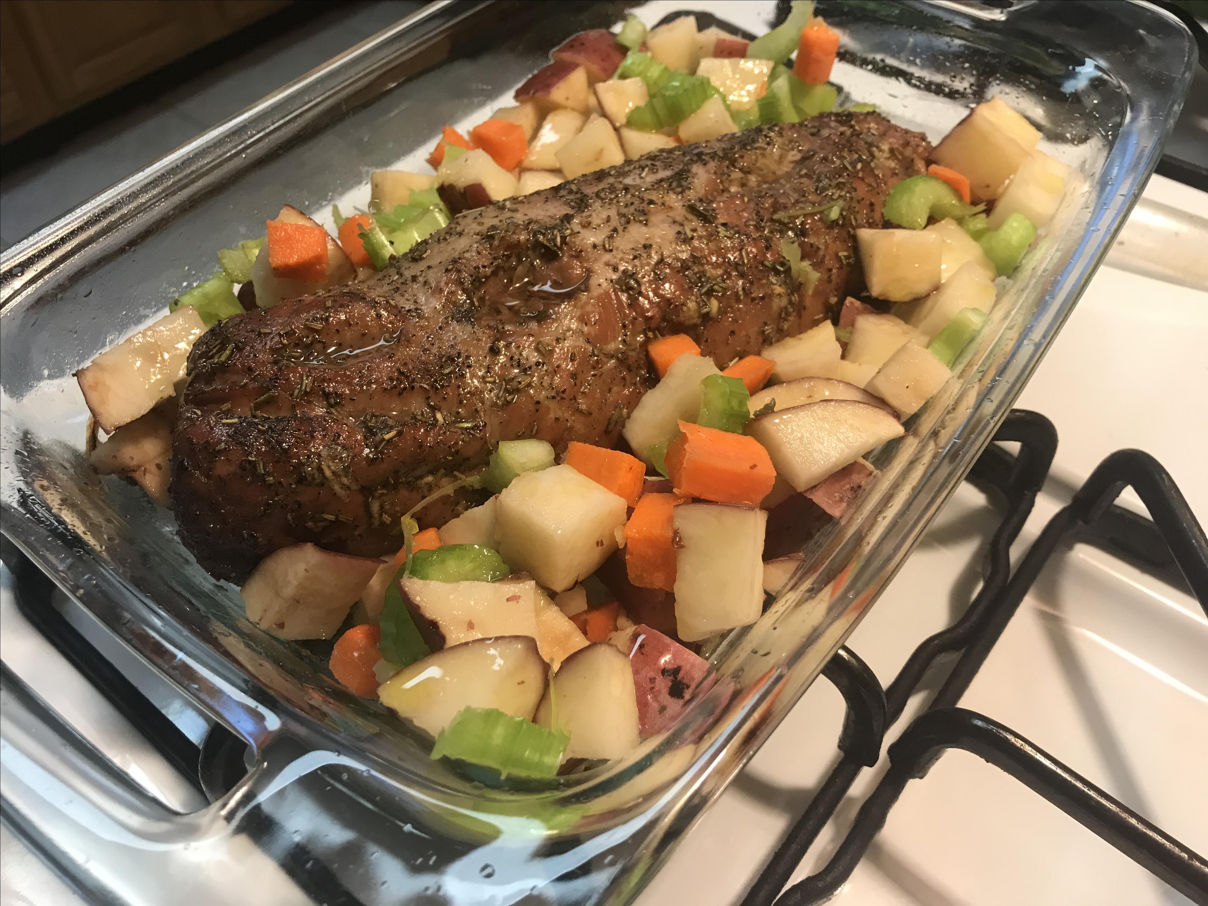 Healthier Roasted Pork Loin Bonnie Harley
