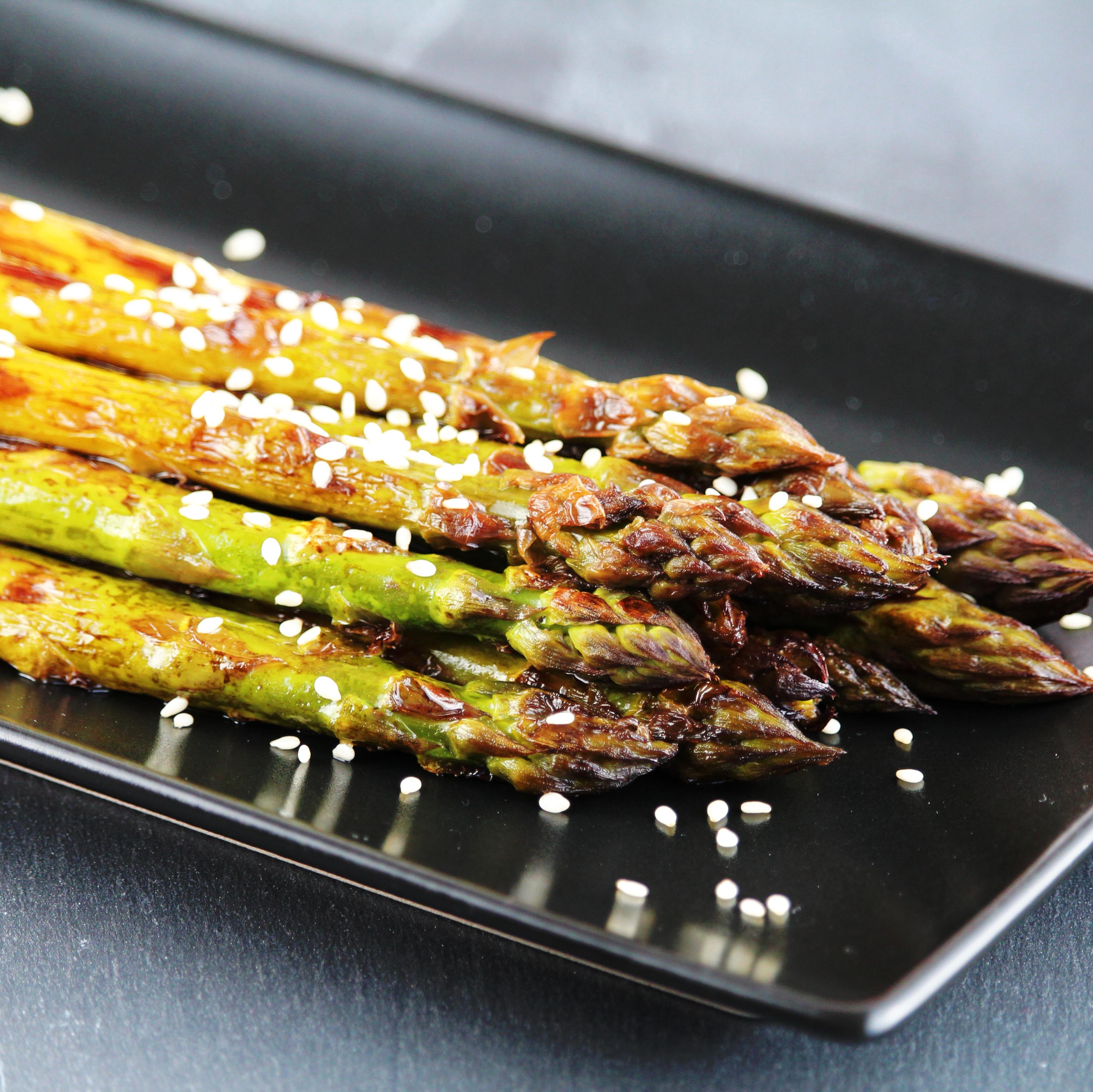 Tasty Barbecued Asparagus