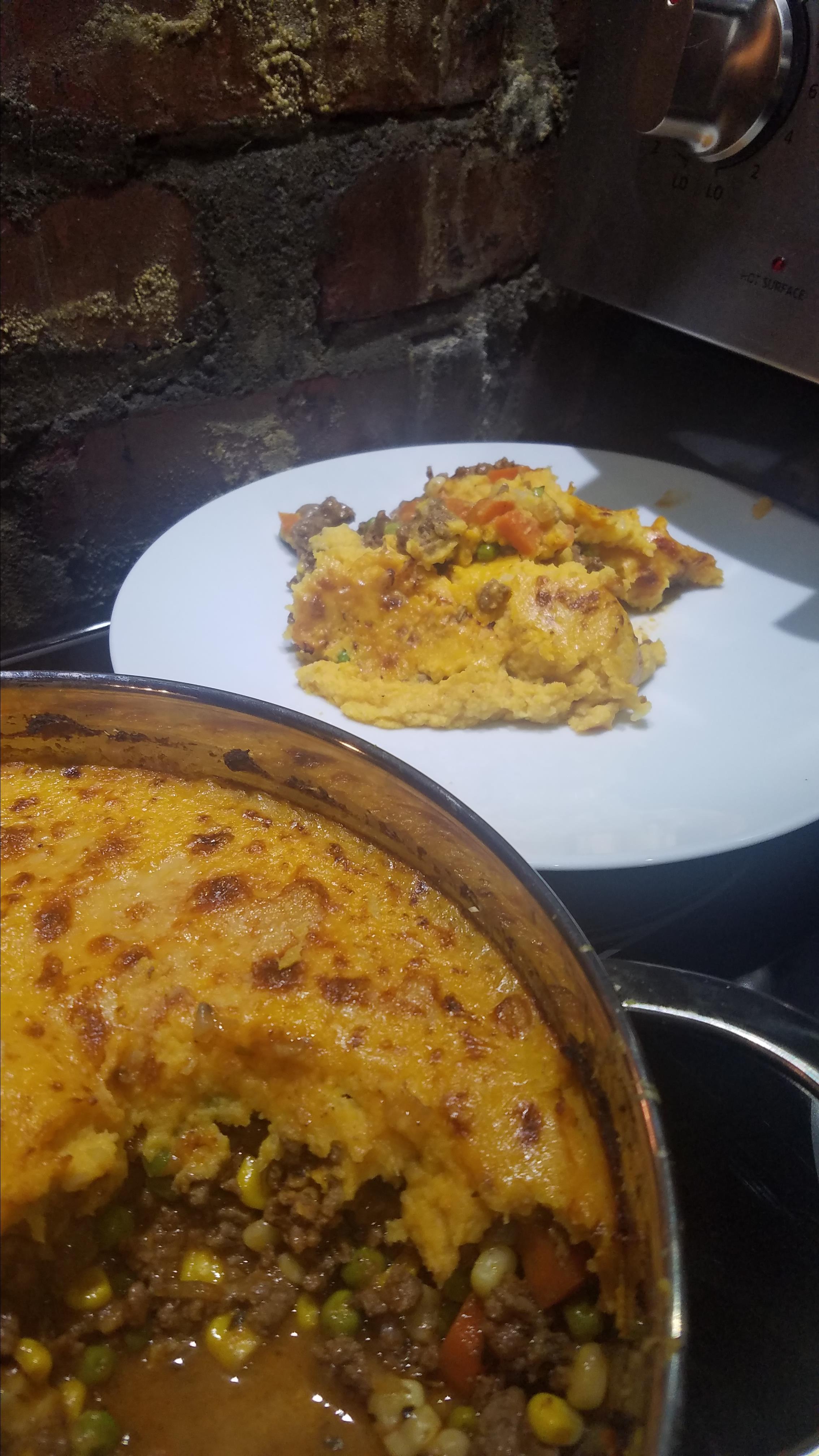 Sweet Potato-Cauliflower Shepherd's Pie Emily