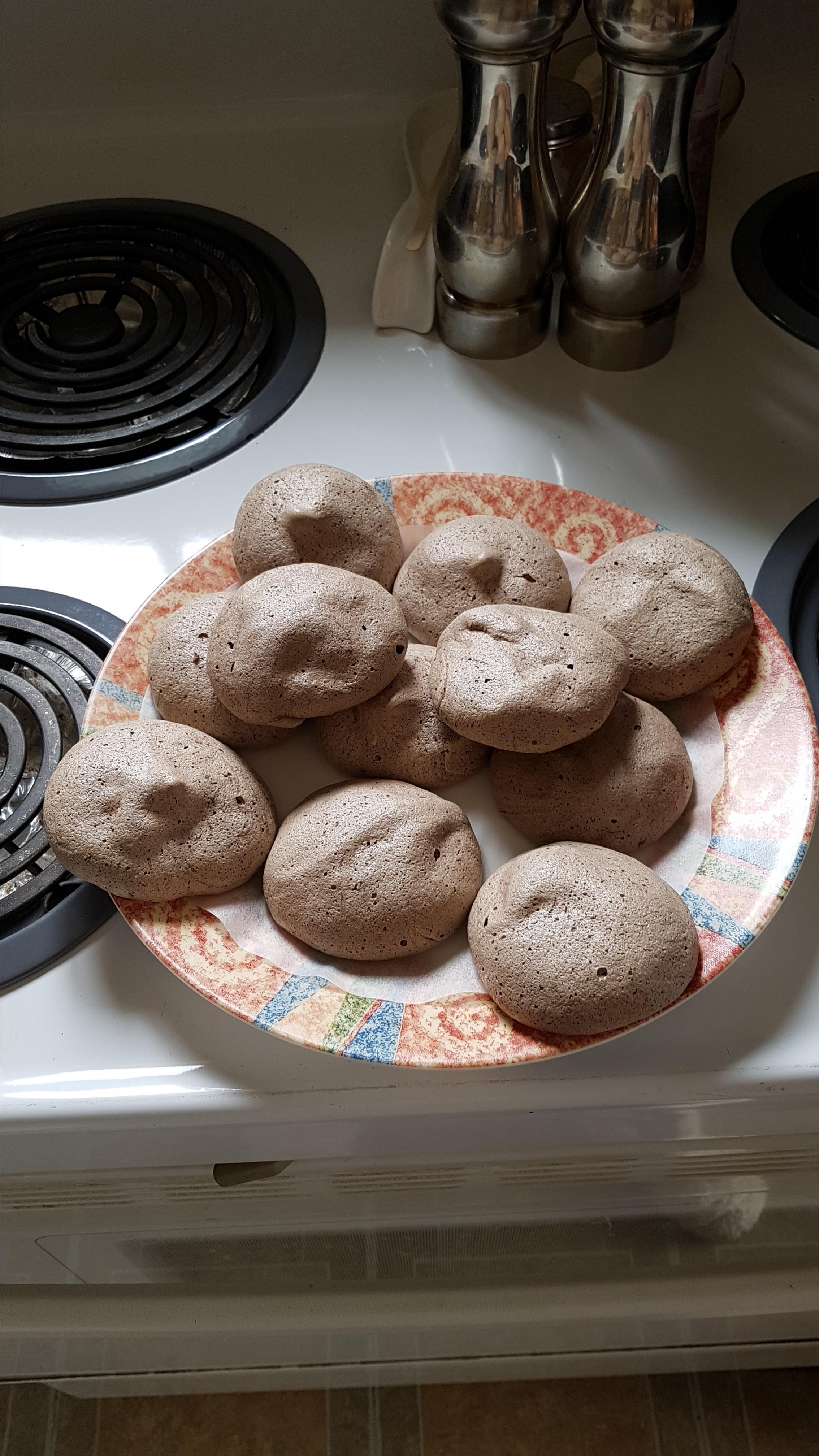 Chocolate Meringue Cookies Heather Monahan