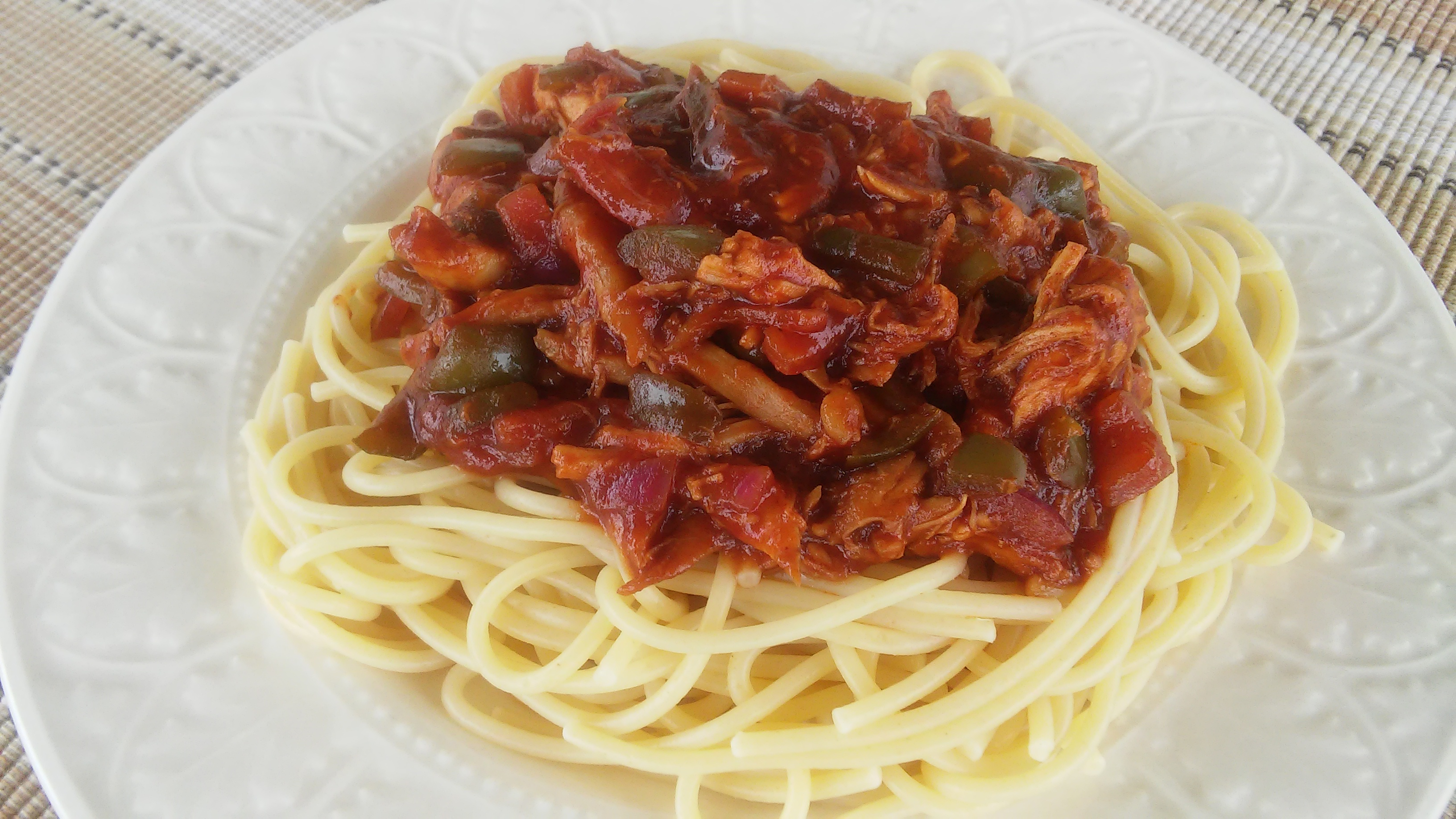 Spicy Chicken Spaghetti II
