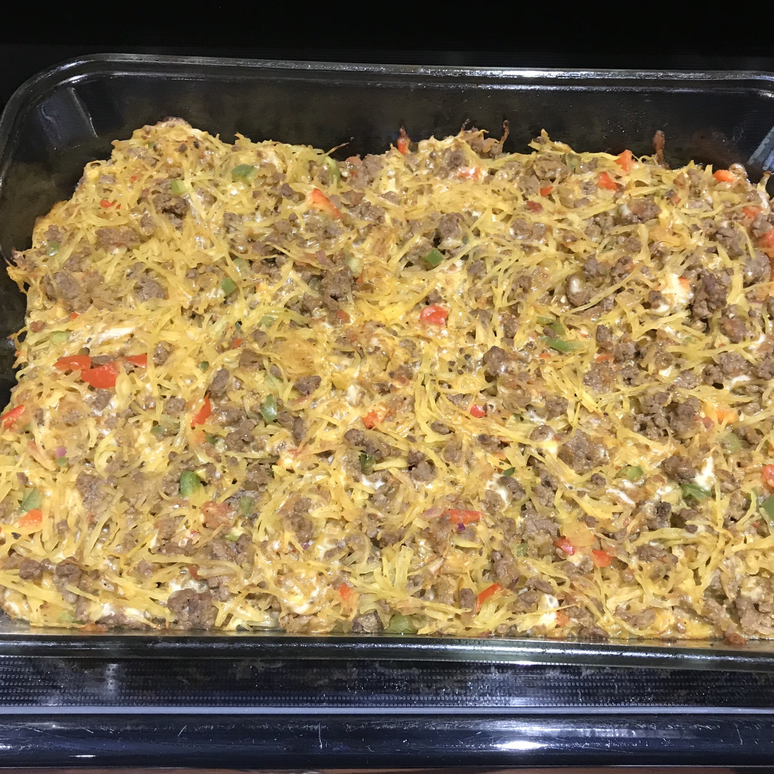 Baked Spaghetti Squash with Beef and Veggies Beth Walker