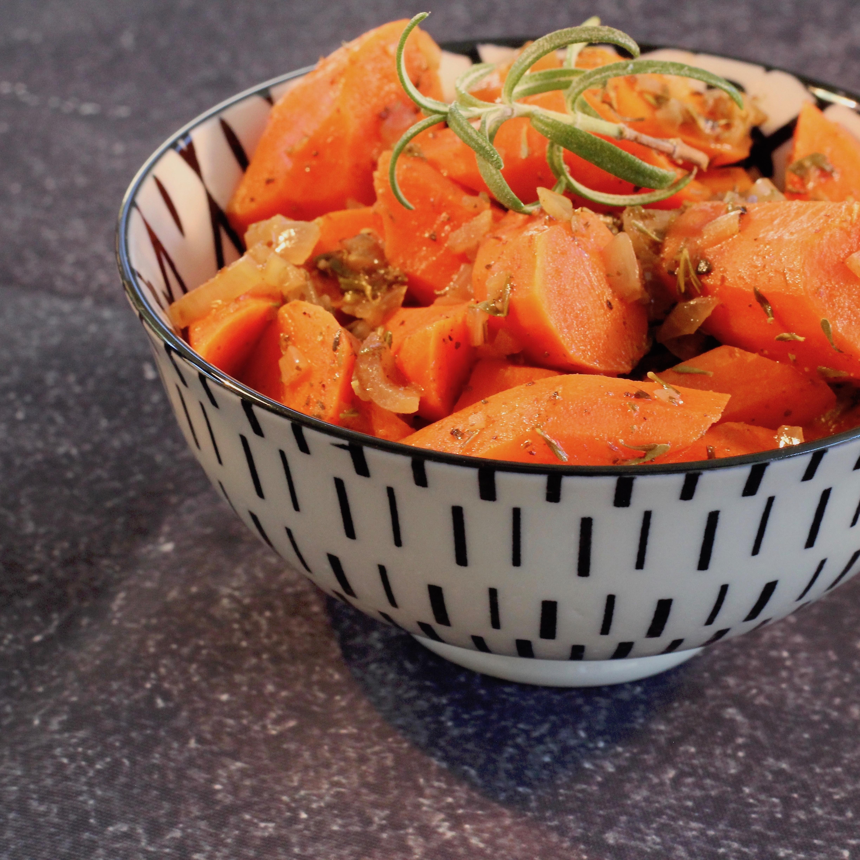 Herb Braised Carrots Shyla Lane