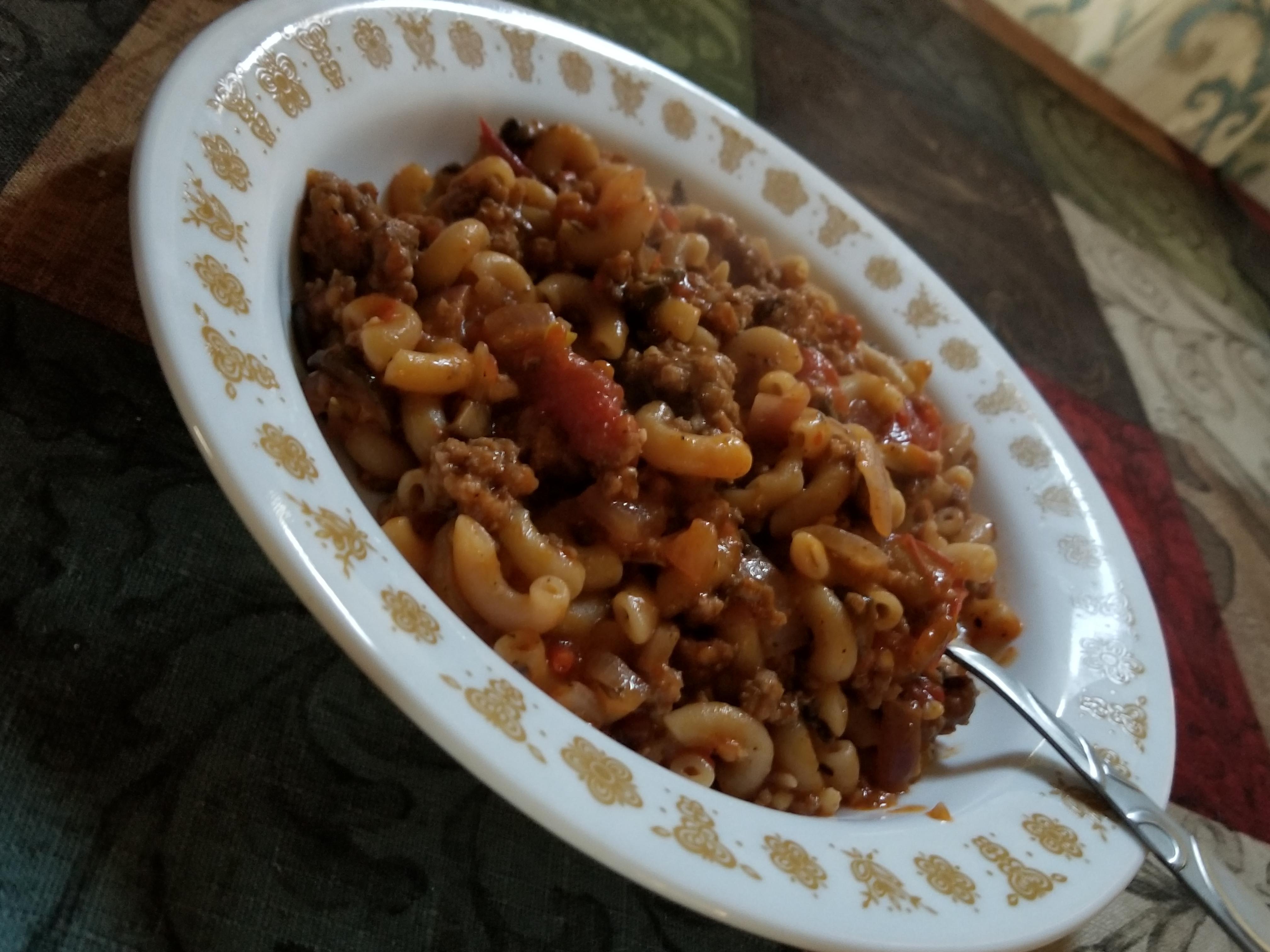 A Minnesotan's Beef and Macaroni Hotdish Mee Maw