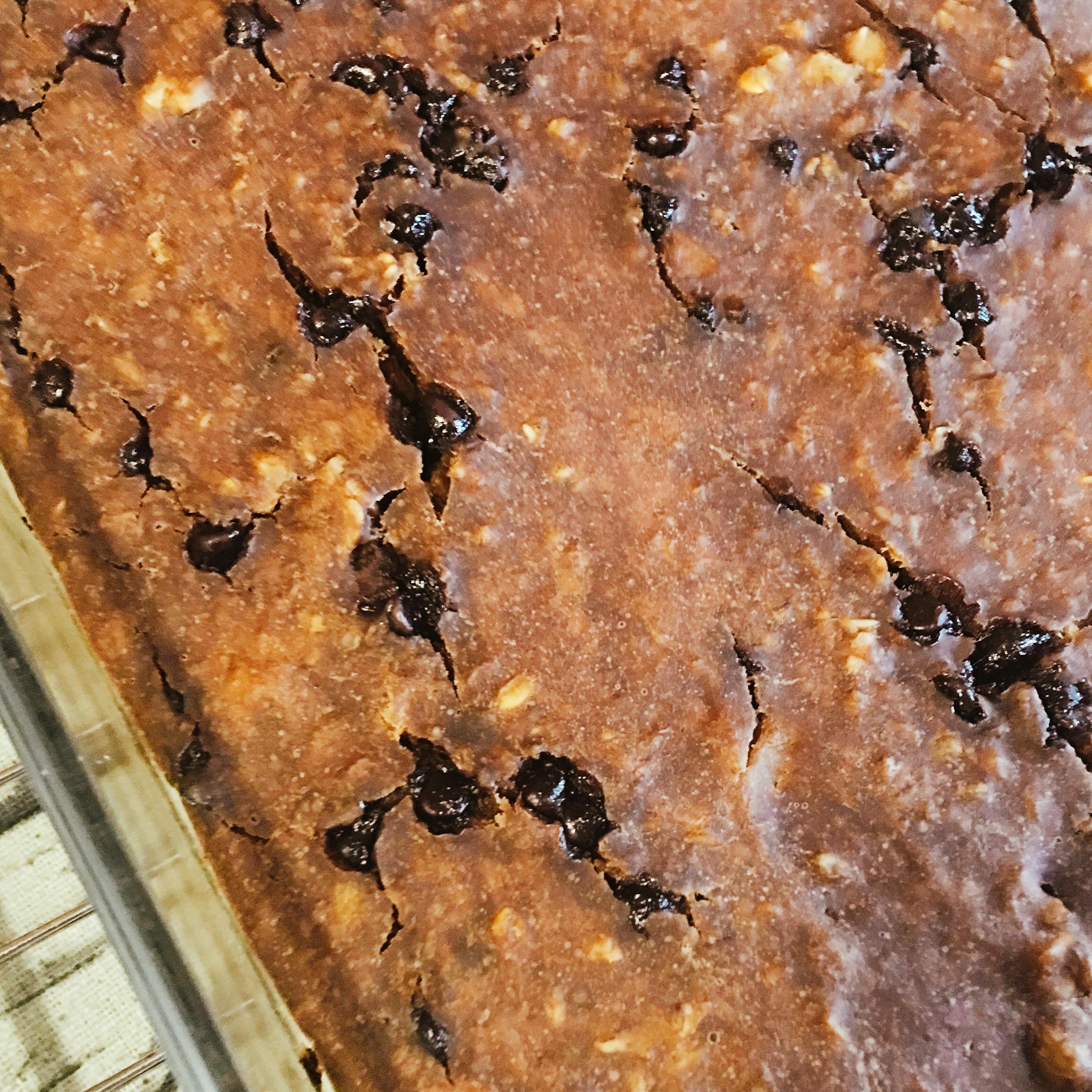 Chocolate Chip Oatmeal Cake