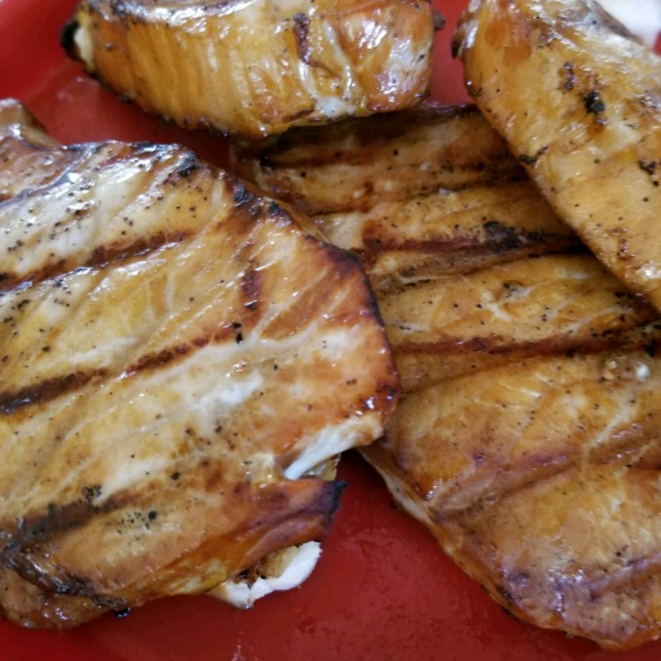 Molasses Brined Pork Chops