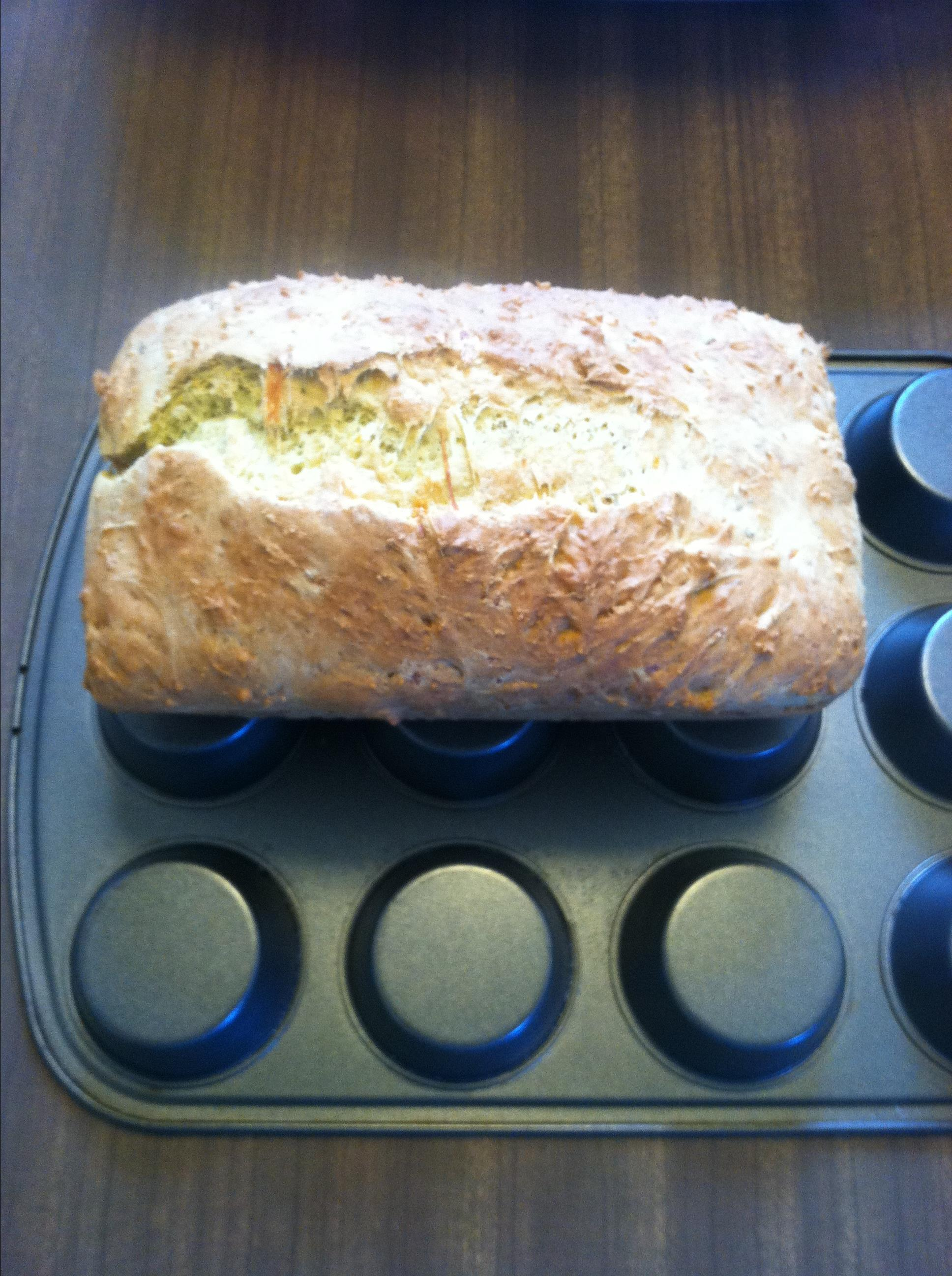 Green Chile Cheese Beer Bread Connie Molitor Bergeron