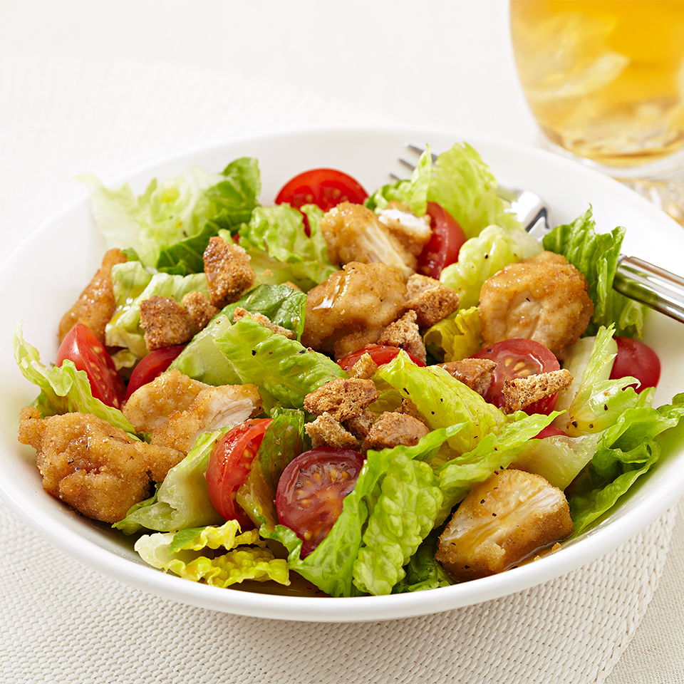 Fried  Chicken Salad Diabetic Living Magazine