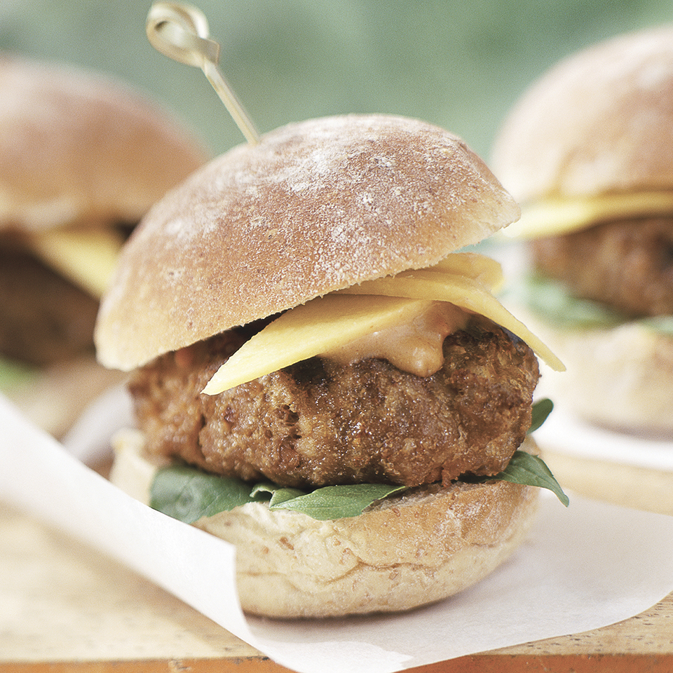 Thai Turkey Burgers Diabetic Living Magazine