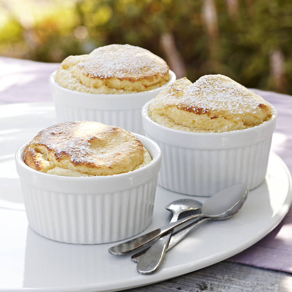 Easy Lemon Soufflés Diabetic Living Magazine