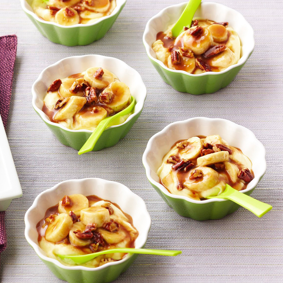 Bananas Foster Pudding Cups Diabetic Living Magazine