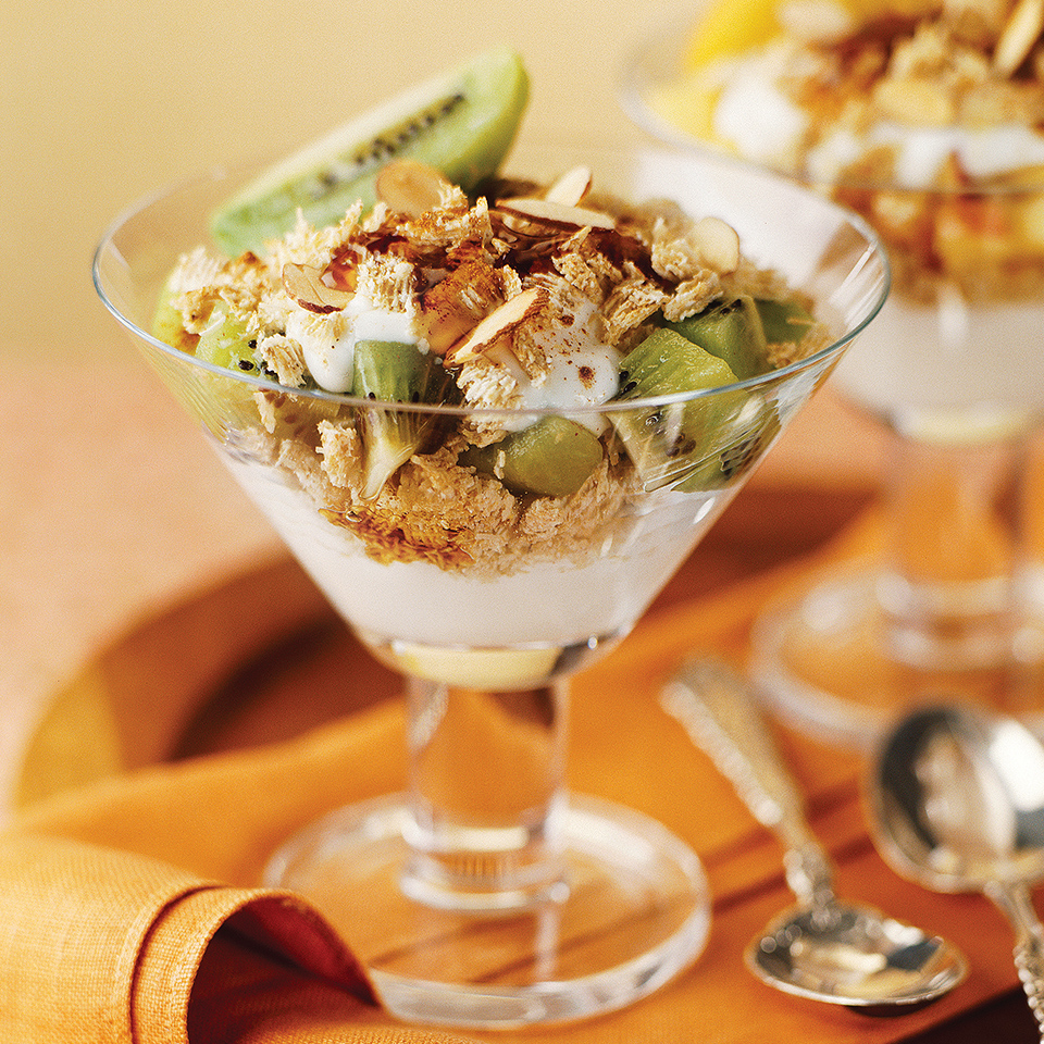 Fruit and Yogurt Parfaits Diabetic Living Magazine