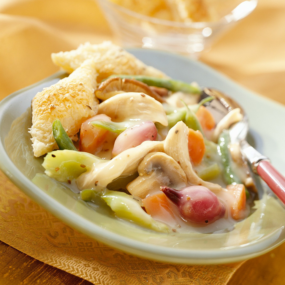 Caraway Chicken & Vegetable Stew Diabetic Living Magazine