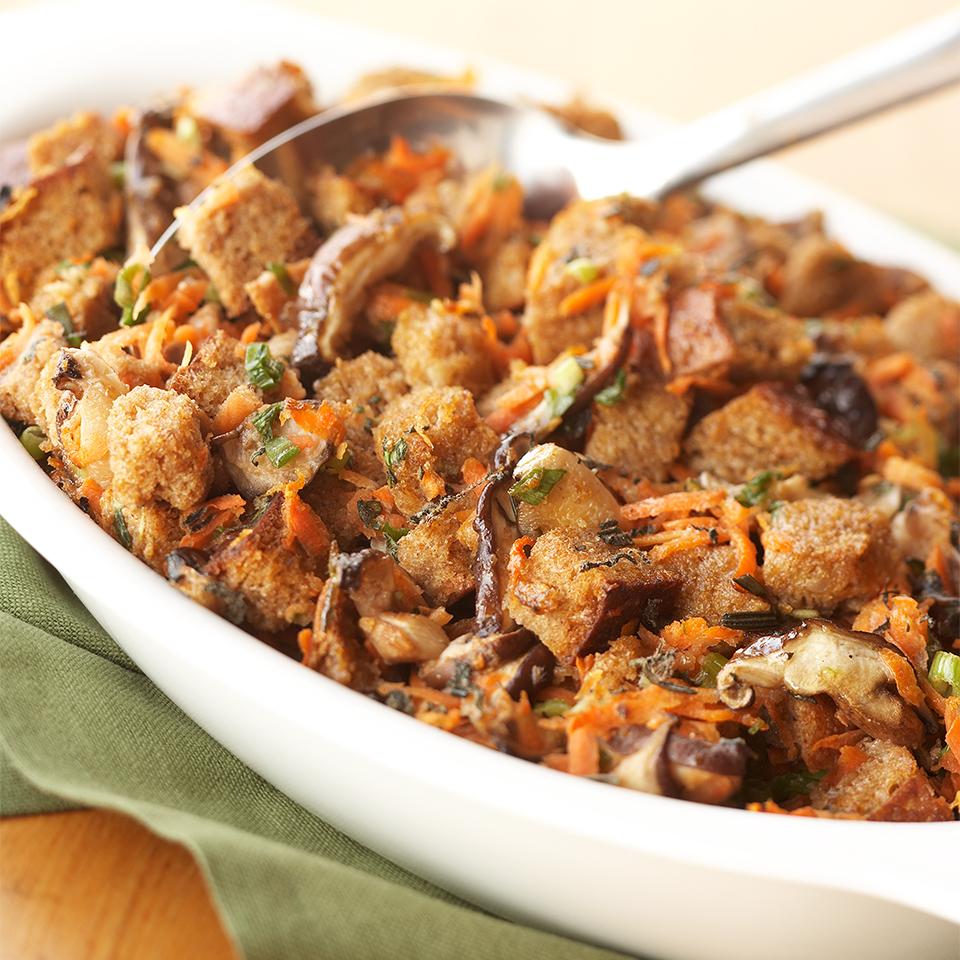 Carrot-Mushroom Stuffing Diabetic Living Magazine