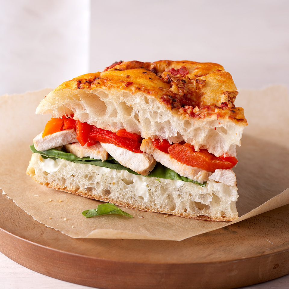 Chicken Focaccia Bread Sandwiches Trusted Brands