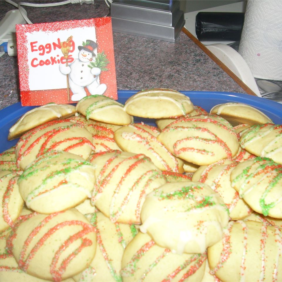 Tasty Eggnog Cookies Crystal