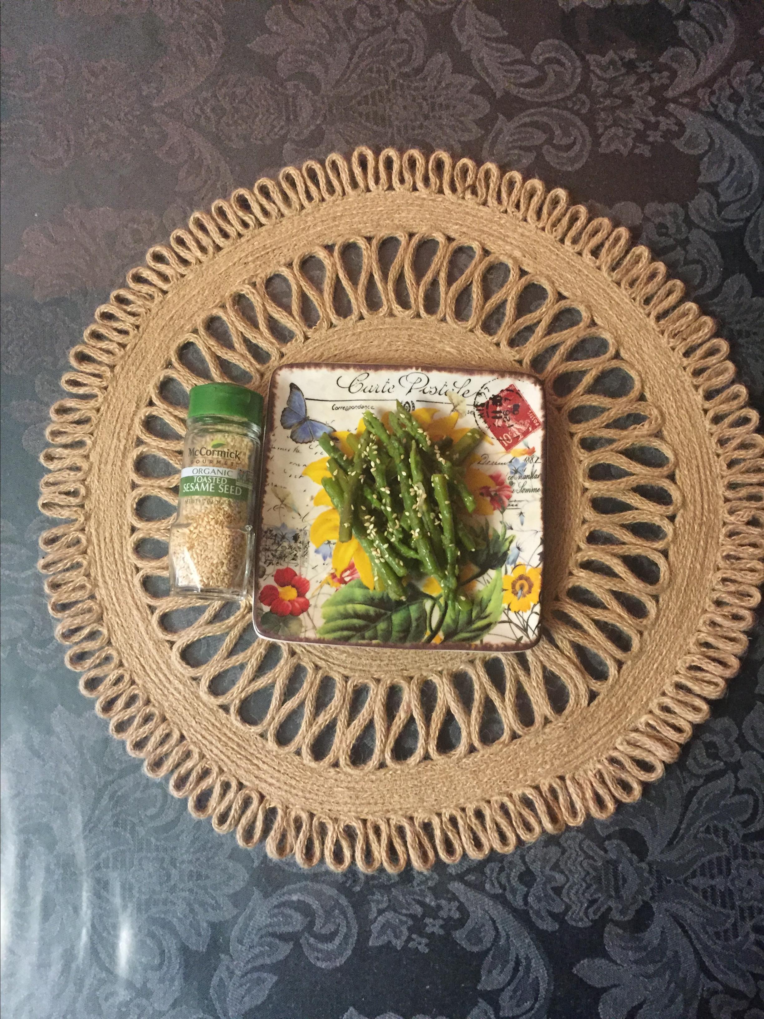 Stir-Fried Sesame Asparagus Sandy Kydd-stead