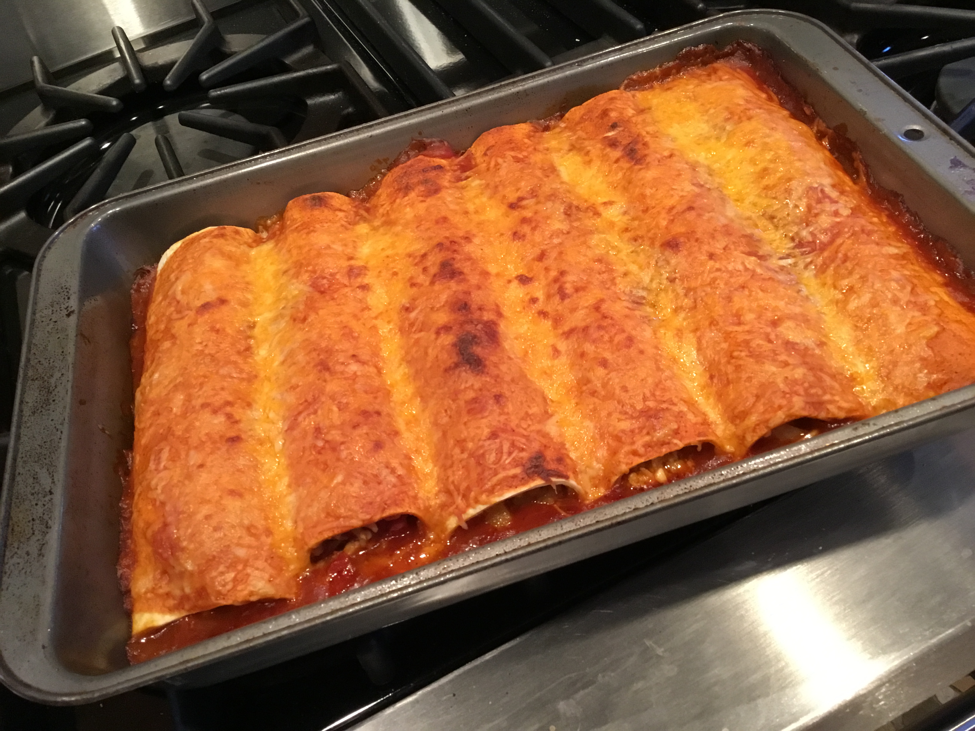 Spicy Chicken Enchiladas Saveur