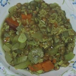 Lentil Curry Soup sueb