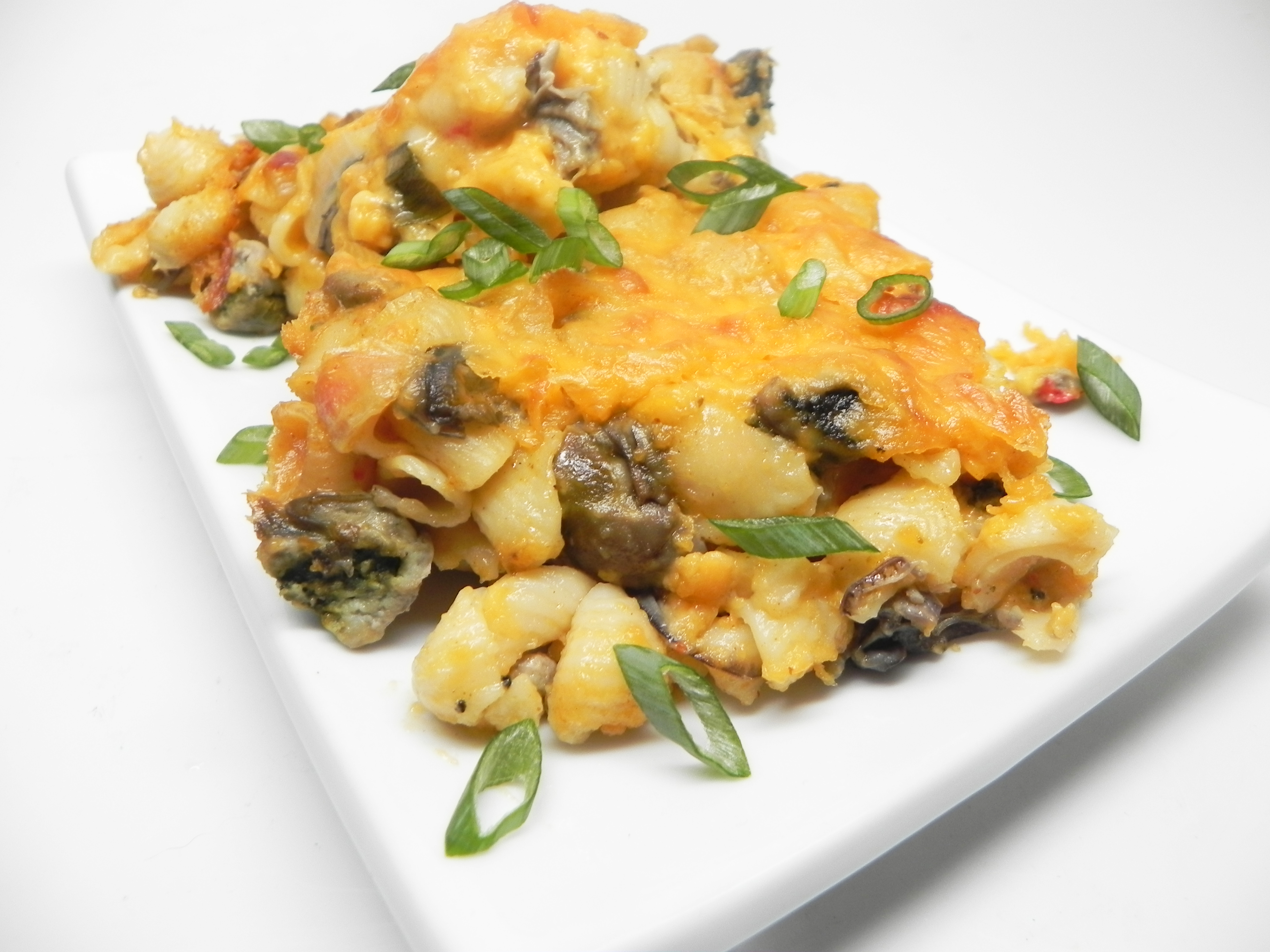 Oyster Macaroni and Cheese
