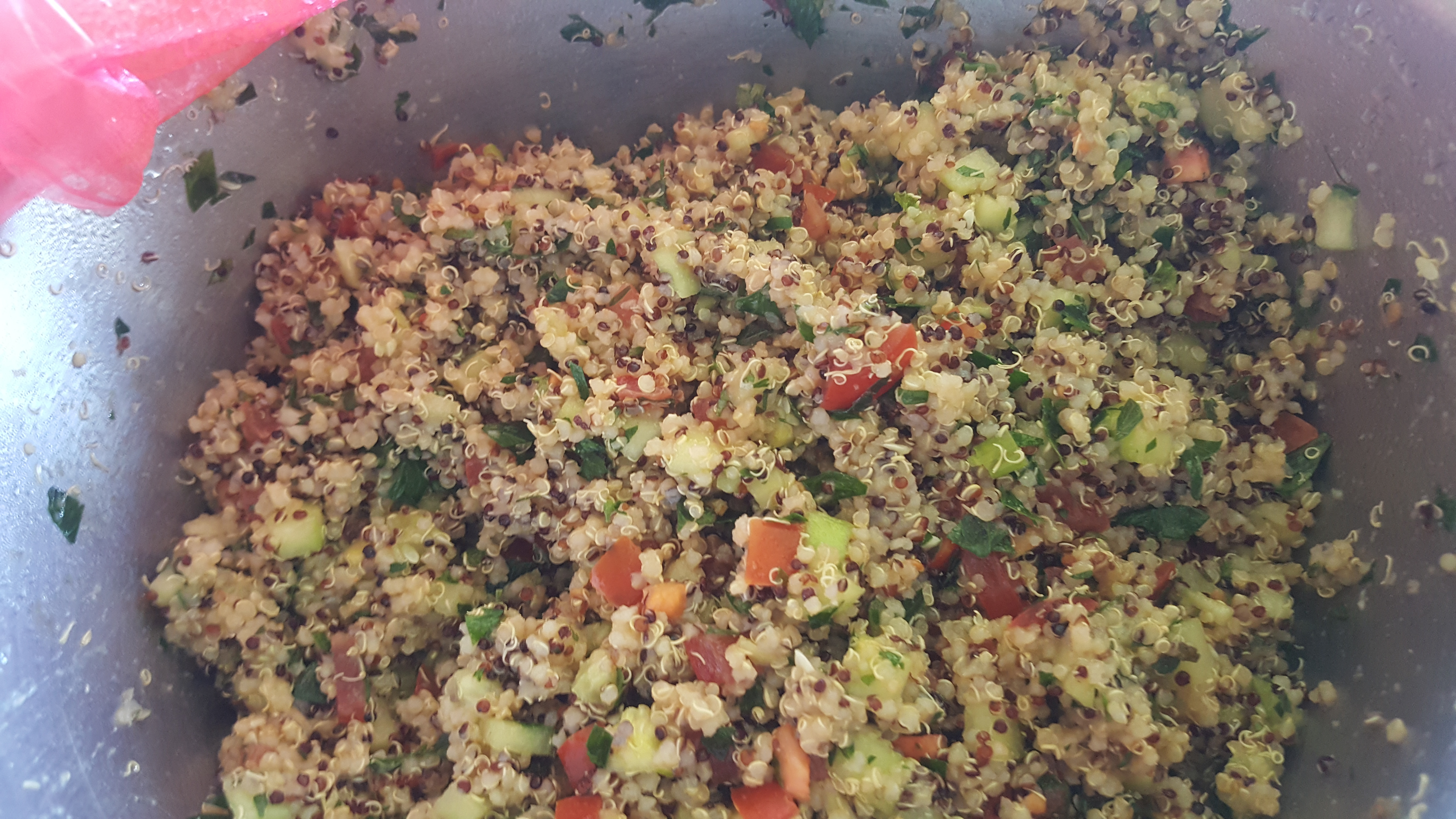 Quinoa Tabbouleh Salad gwennalley