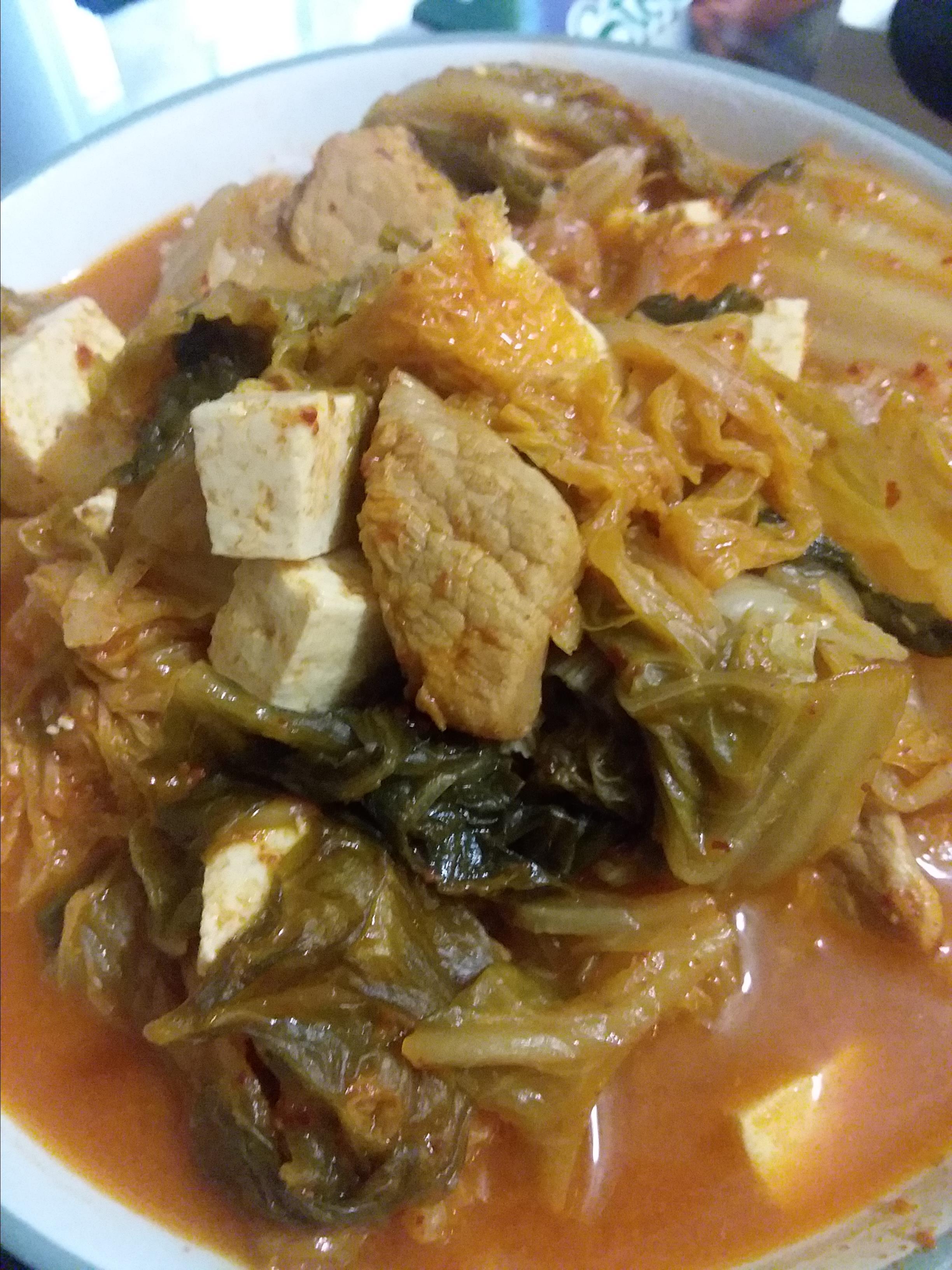 Pork and Kimchi Soup