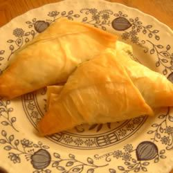 Cheese Filled Triangles AliDot