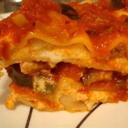 Skinny Vegetable Lasagna